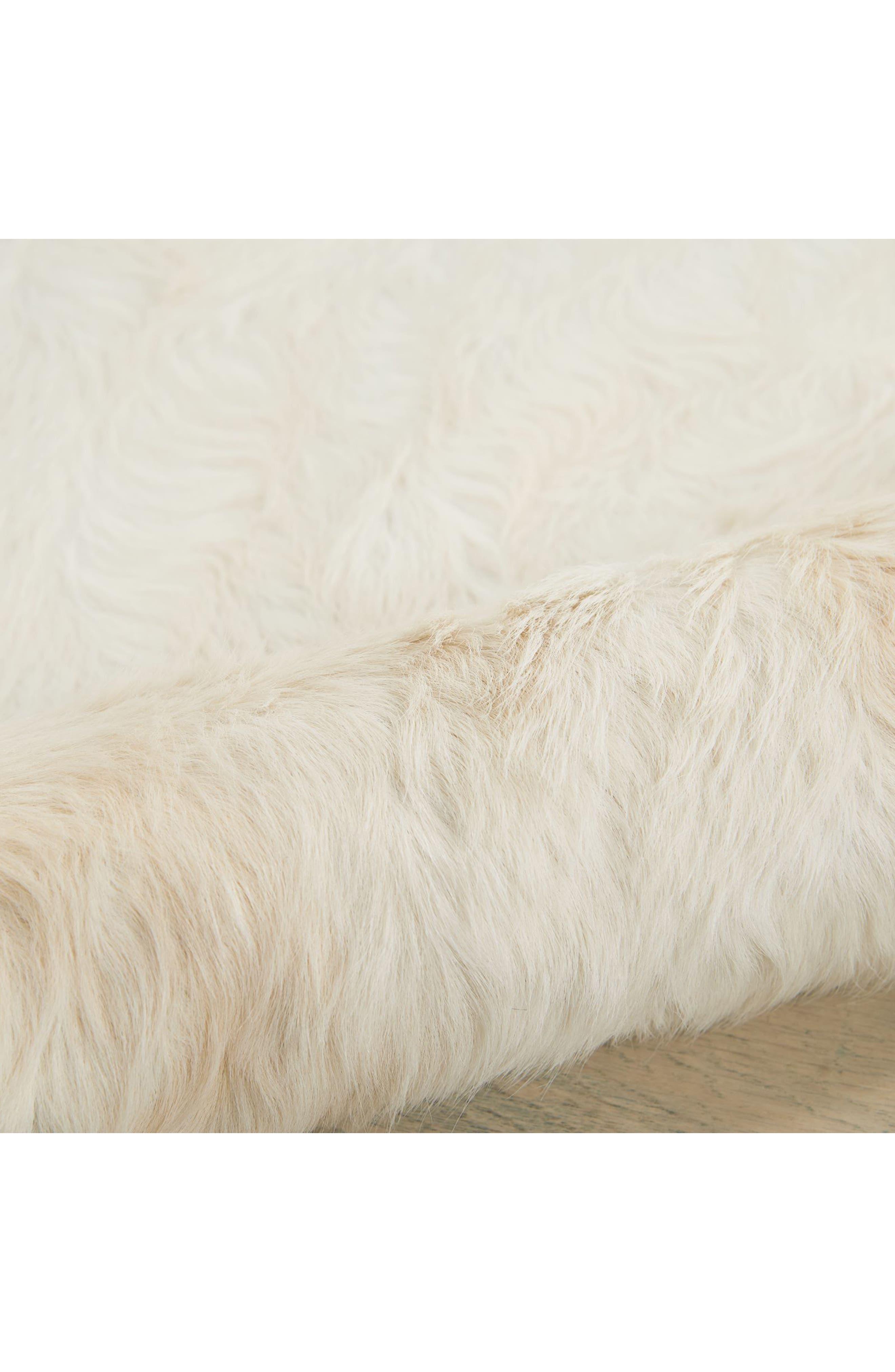 Alternate Image 3  - Nourison Cori Genuine Calf Hair Rug