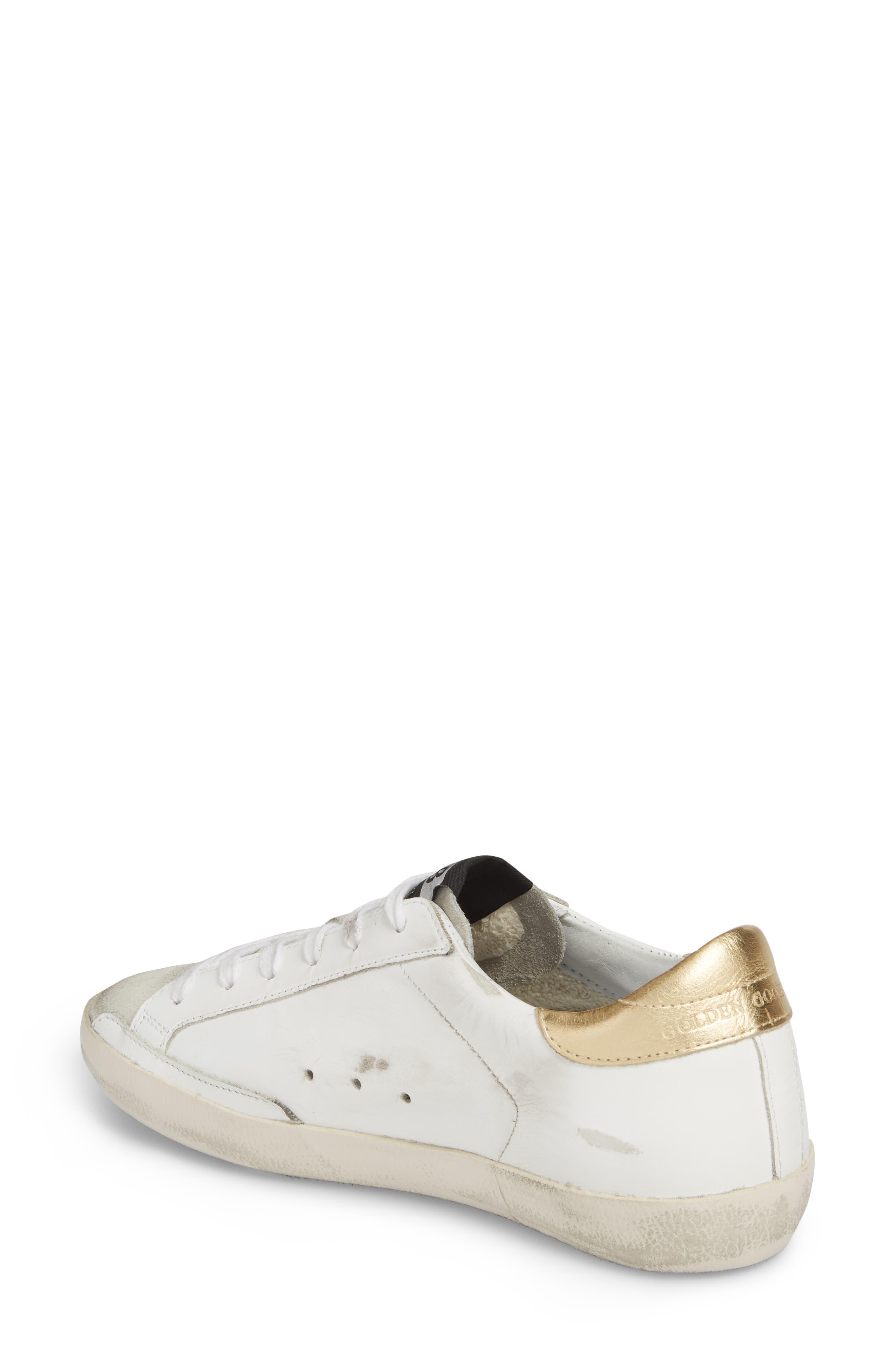 Alternate Image 2  - Golden Goose Superstar Low Top Sneaker (Women)