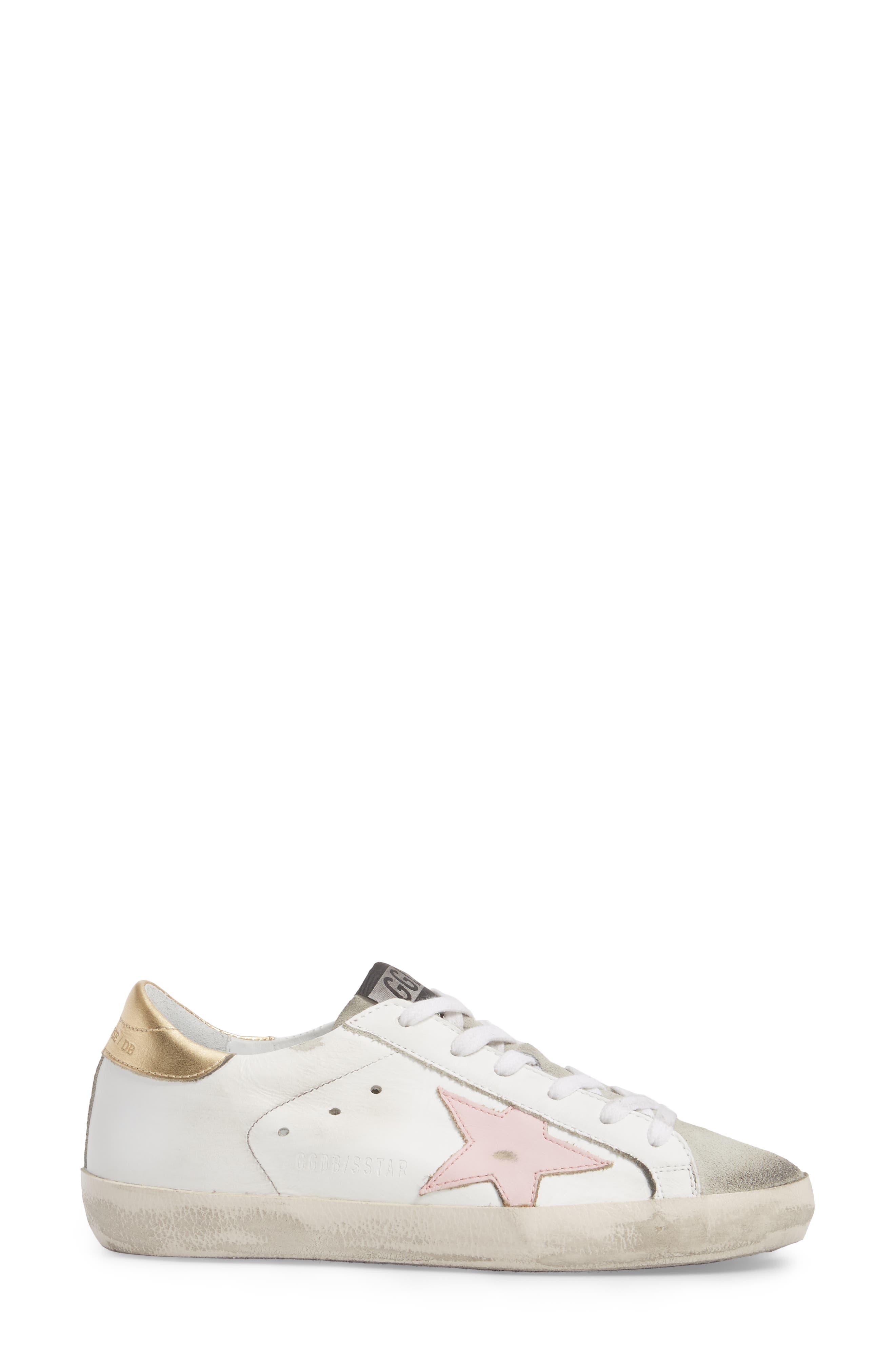 Alternate Image 3  - Golden Goose Superstar Low Top Sneaker (Women)