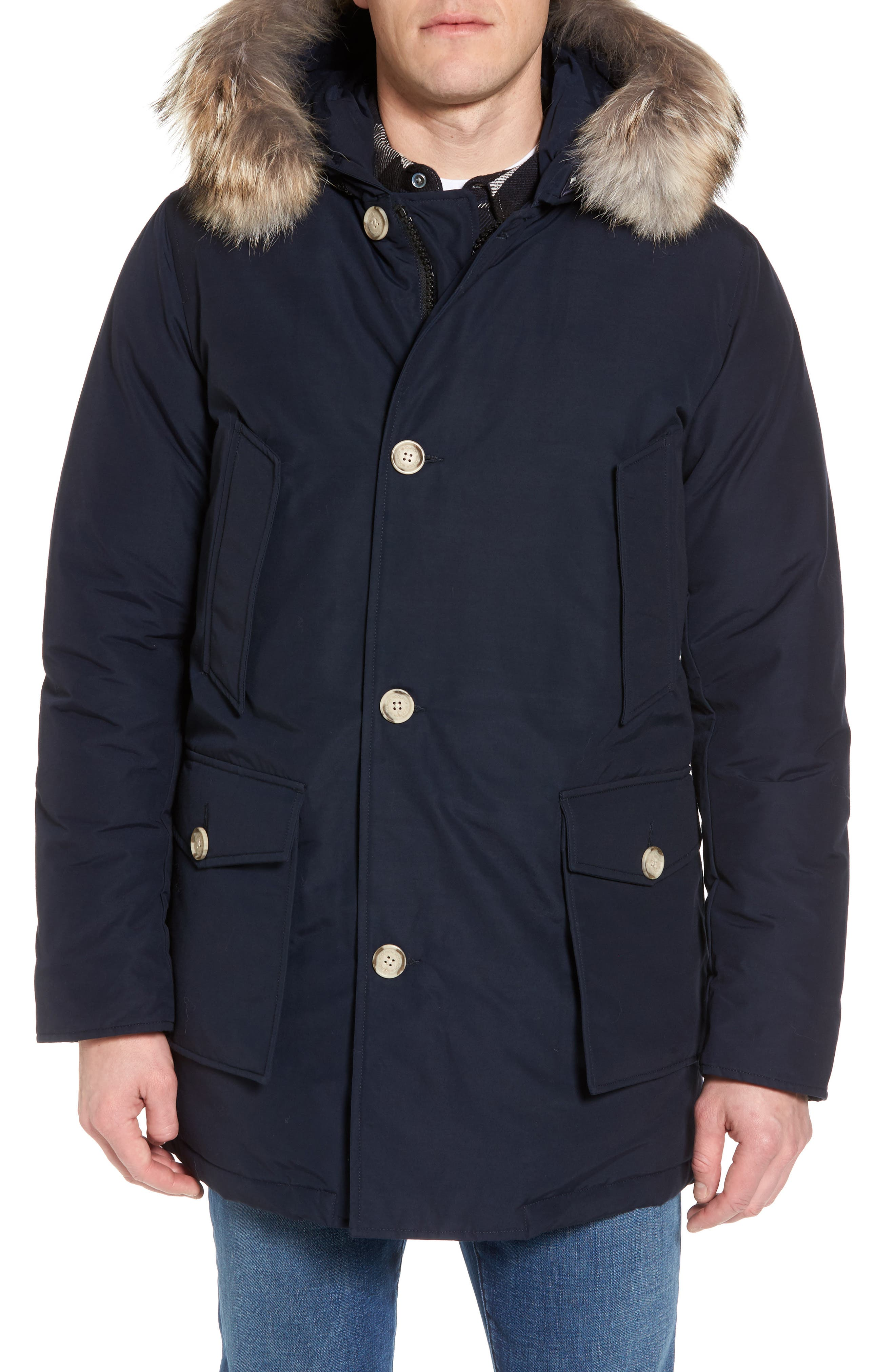 Alternate Image 1 Selected - Woolrich John Rich & Bros. Arctic Parka with Genuine Coyote Fur Trim