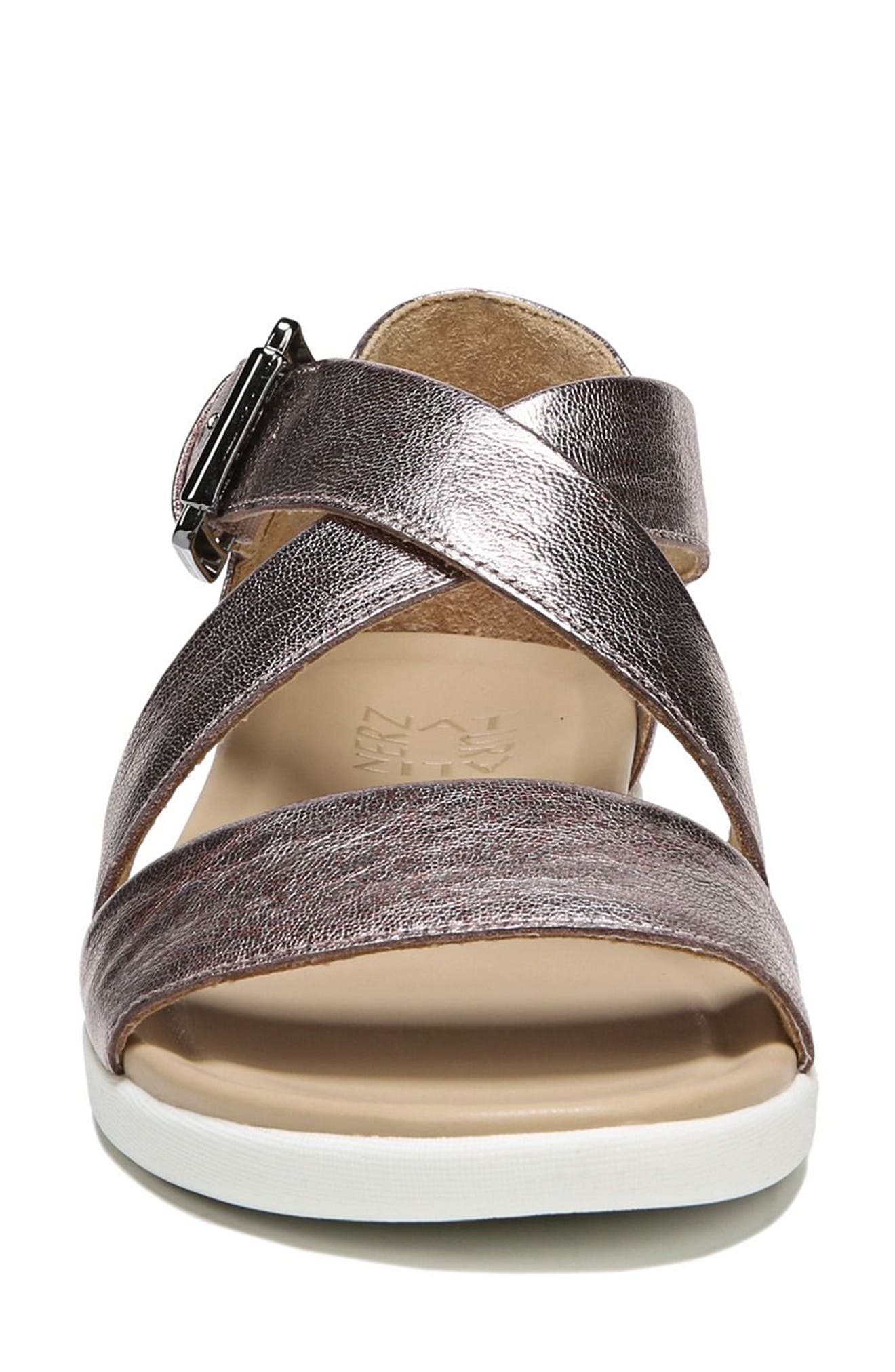 Elliott Sandal,                             Alternate thumbnail 4, color,                             Lilac Leather