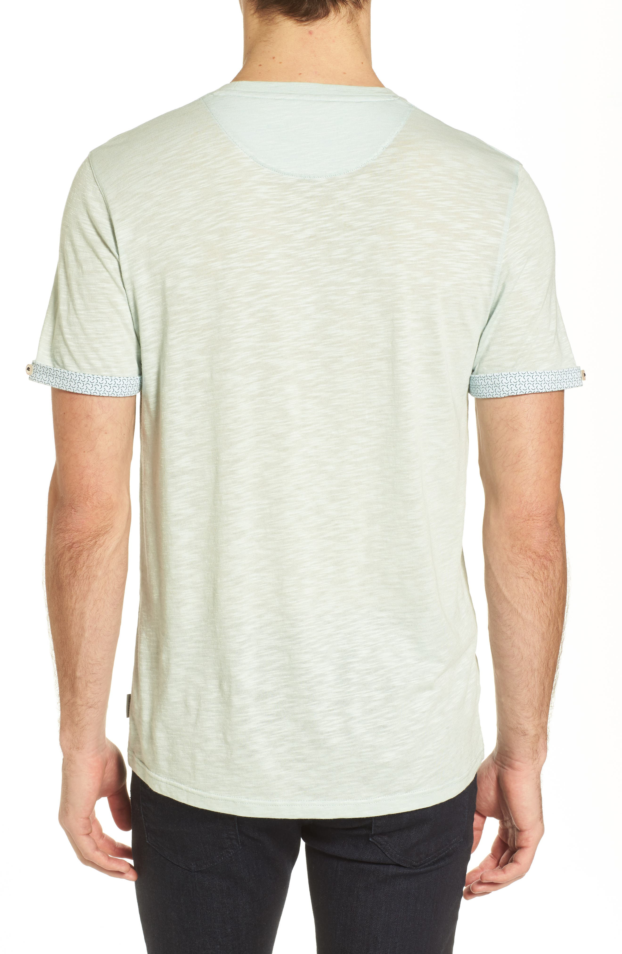 Alternate Image 2  - Ted Baker London Taxi Slub Cotton Pocket T-Shirt