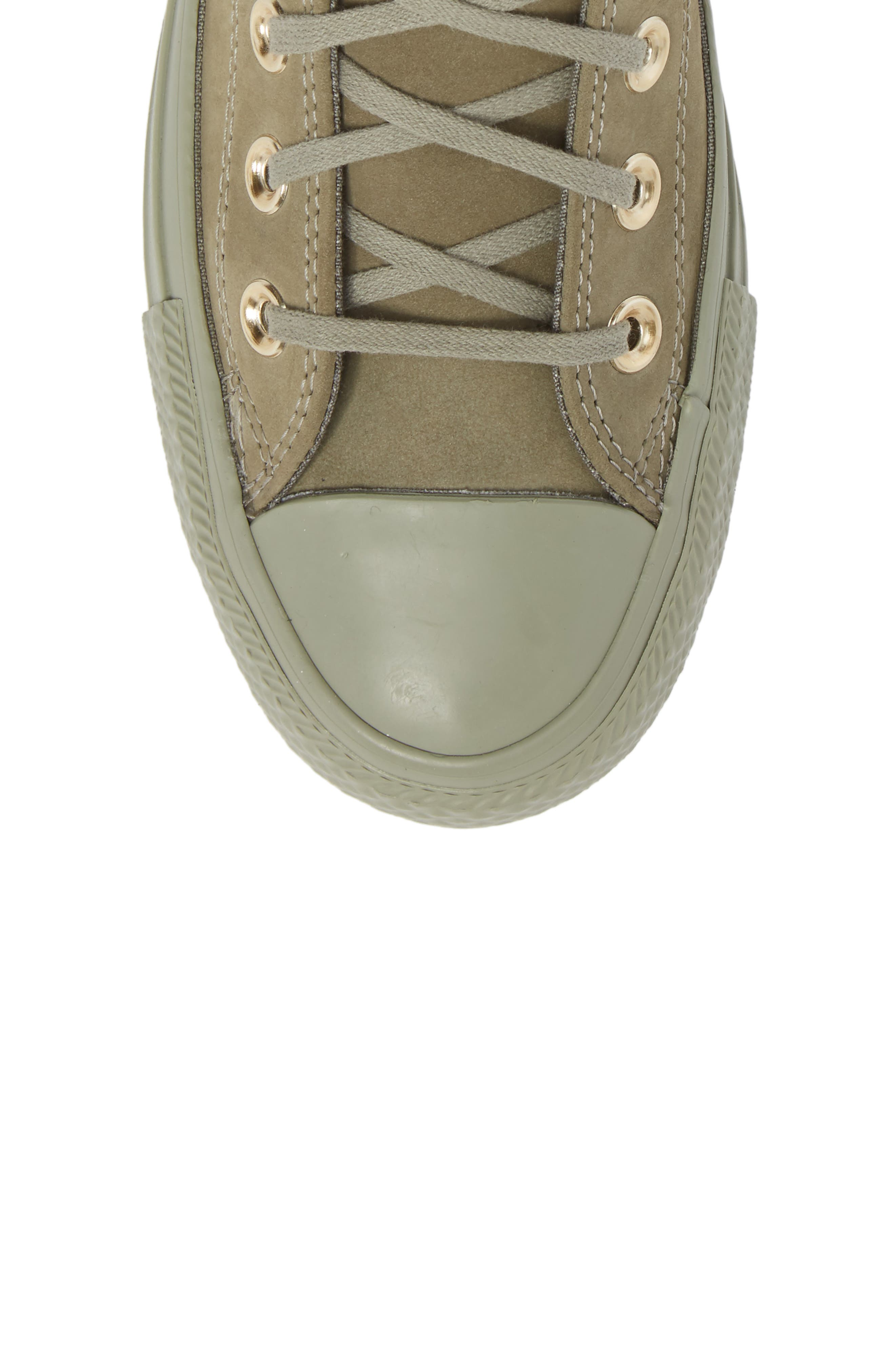 Chuck Taylor<sup>®</sup> All Star<sup>®</sup> High Top Sneaker,                             Alternate thumbnail 5, color,                             Dark Stucco