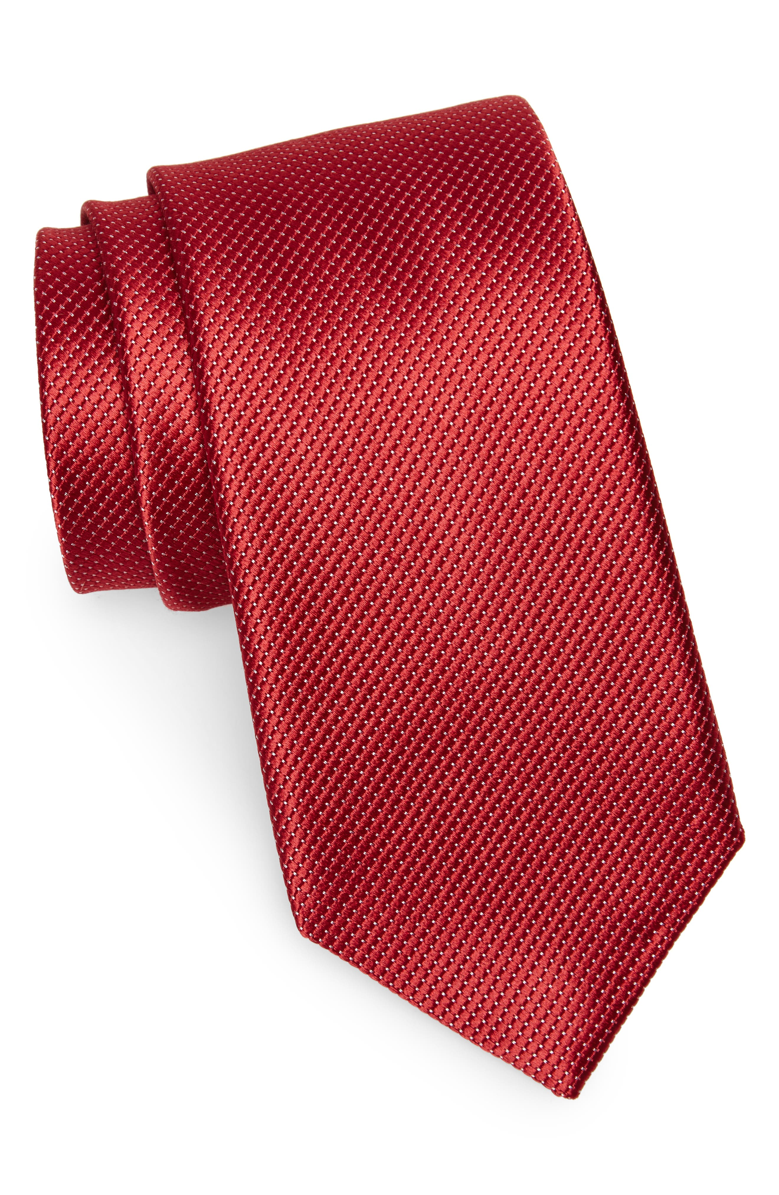 Main Image - Nordstrom Men's Shop Vendôme Dot Silk Tie