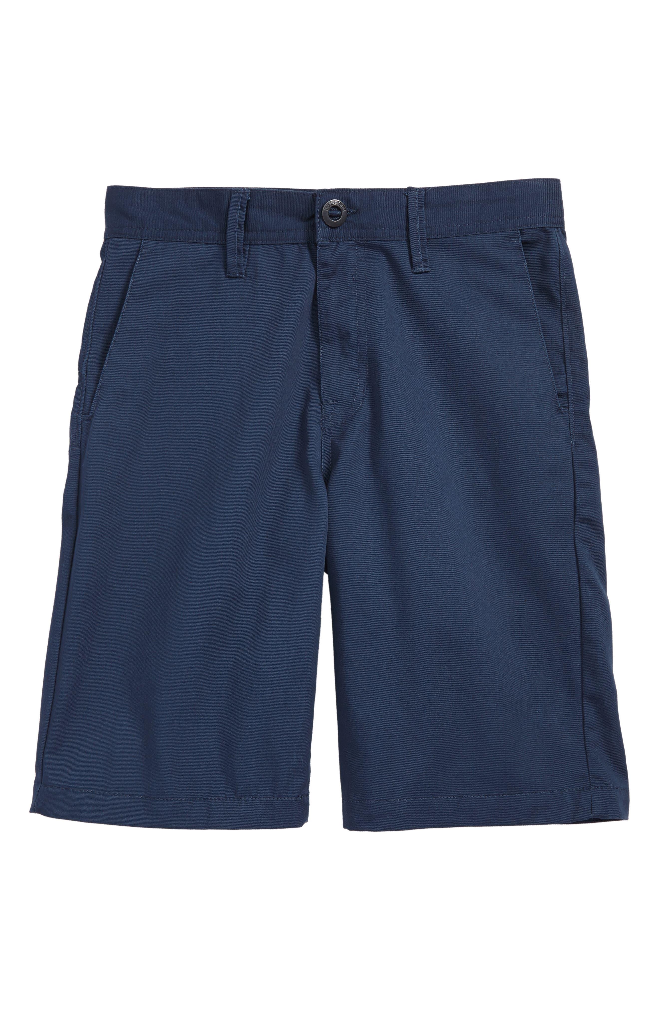 Chino Shorts,                             Main thumbnail 1, color,                             Service Blue