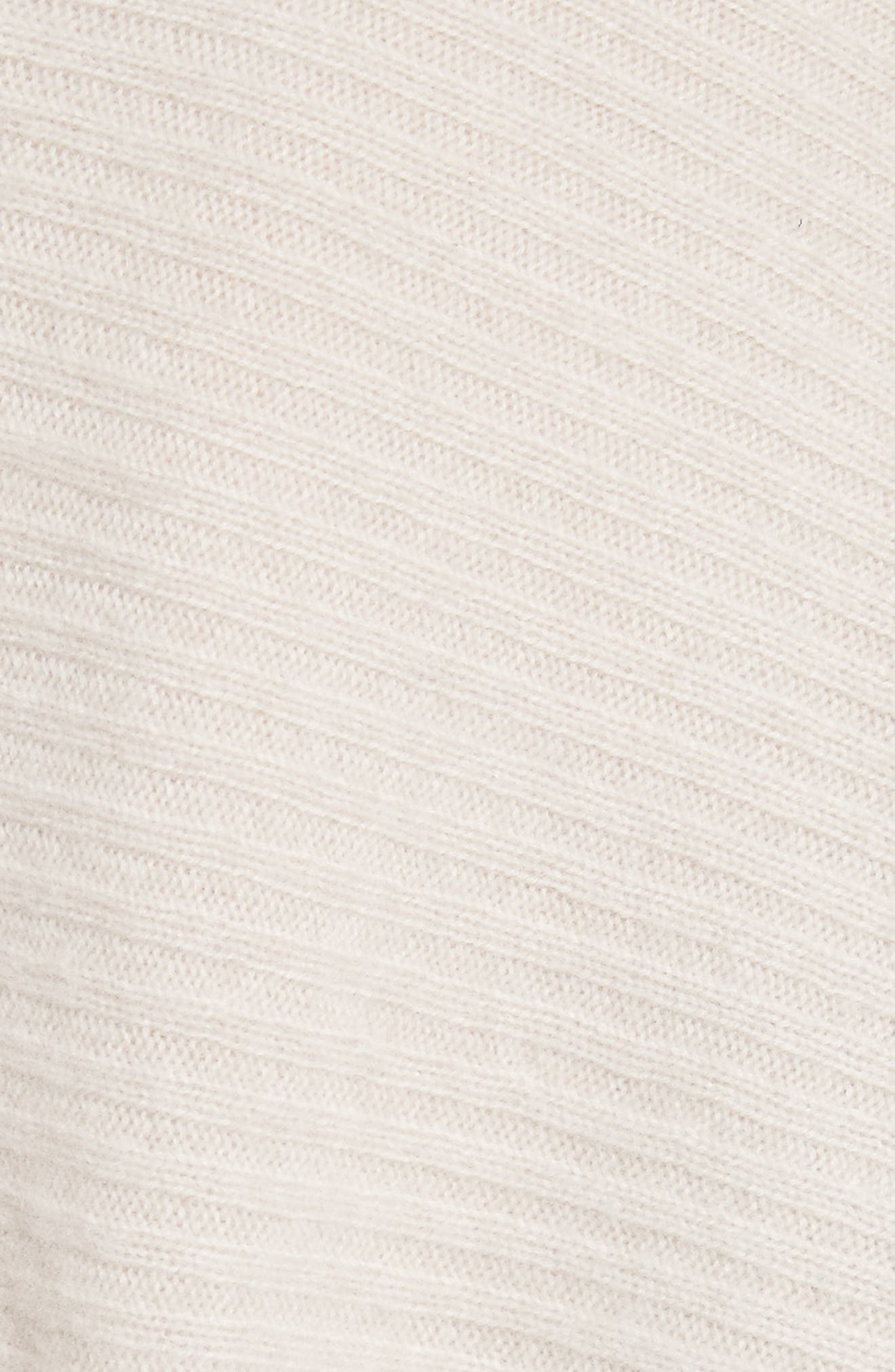 Wool Blend Raglan V-Neck Sweater,                             Alternate thumbnail 5, color,                             Chalet