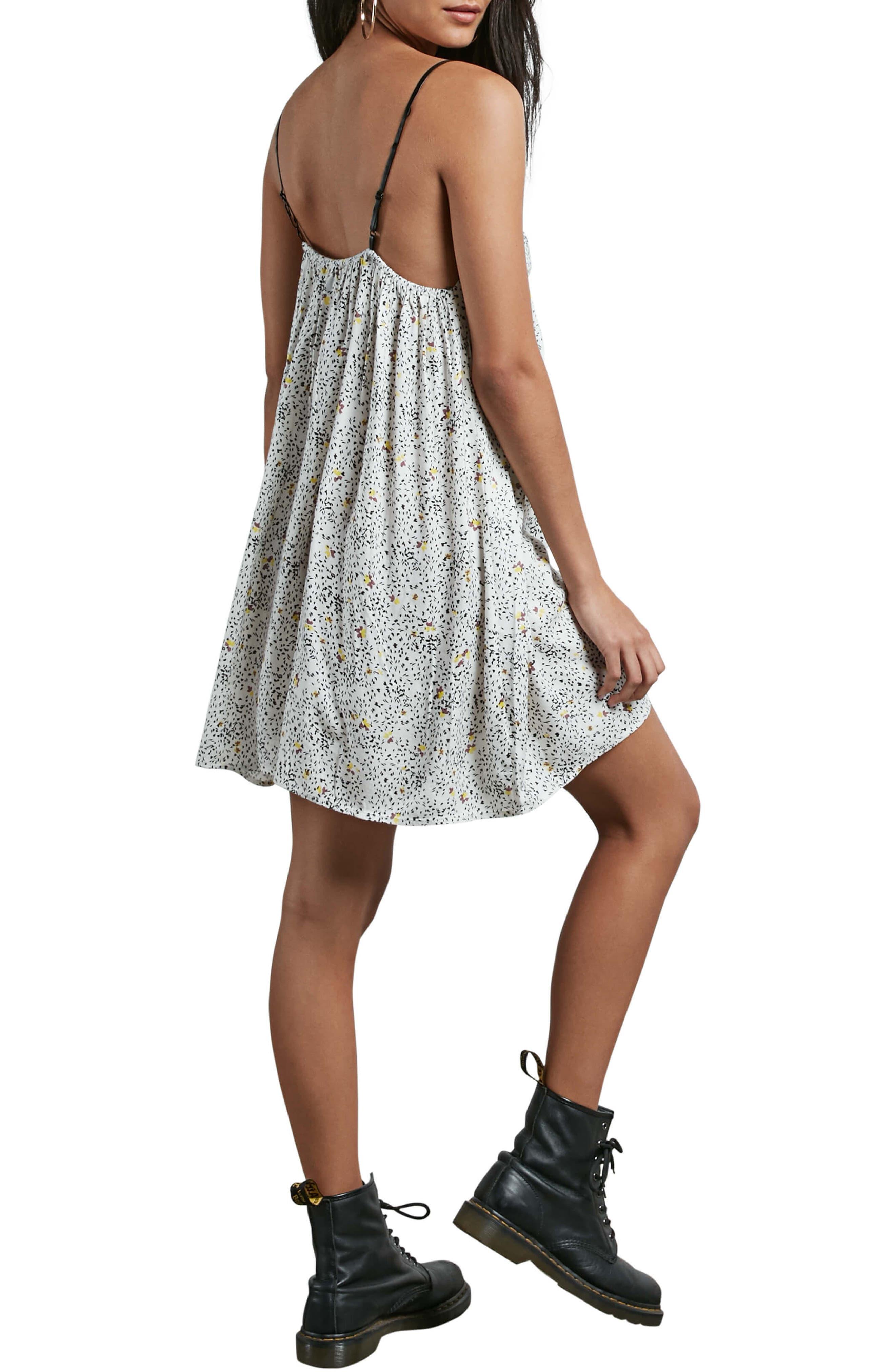 Alternate Image 2  - Volcom Thx It's a New Dress Babydoll Dress