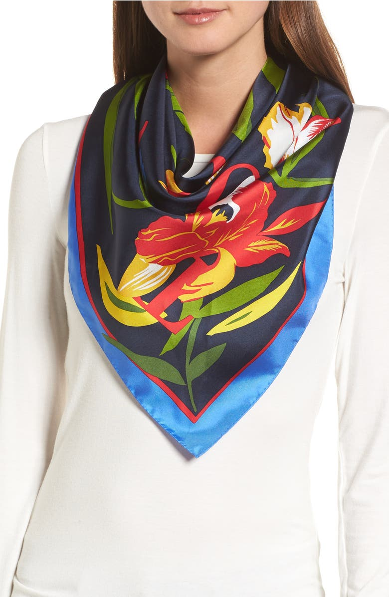 ca966e4ebfa iris-square-silk-scarf by tory-burch