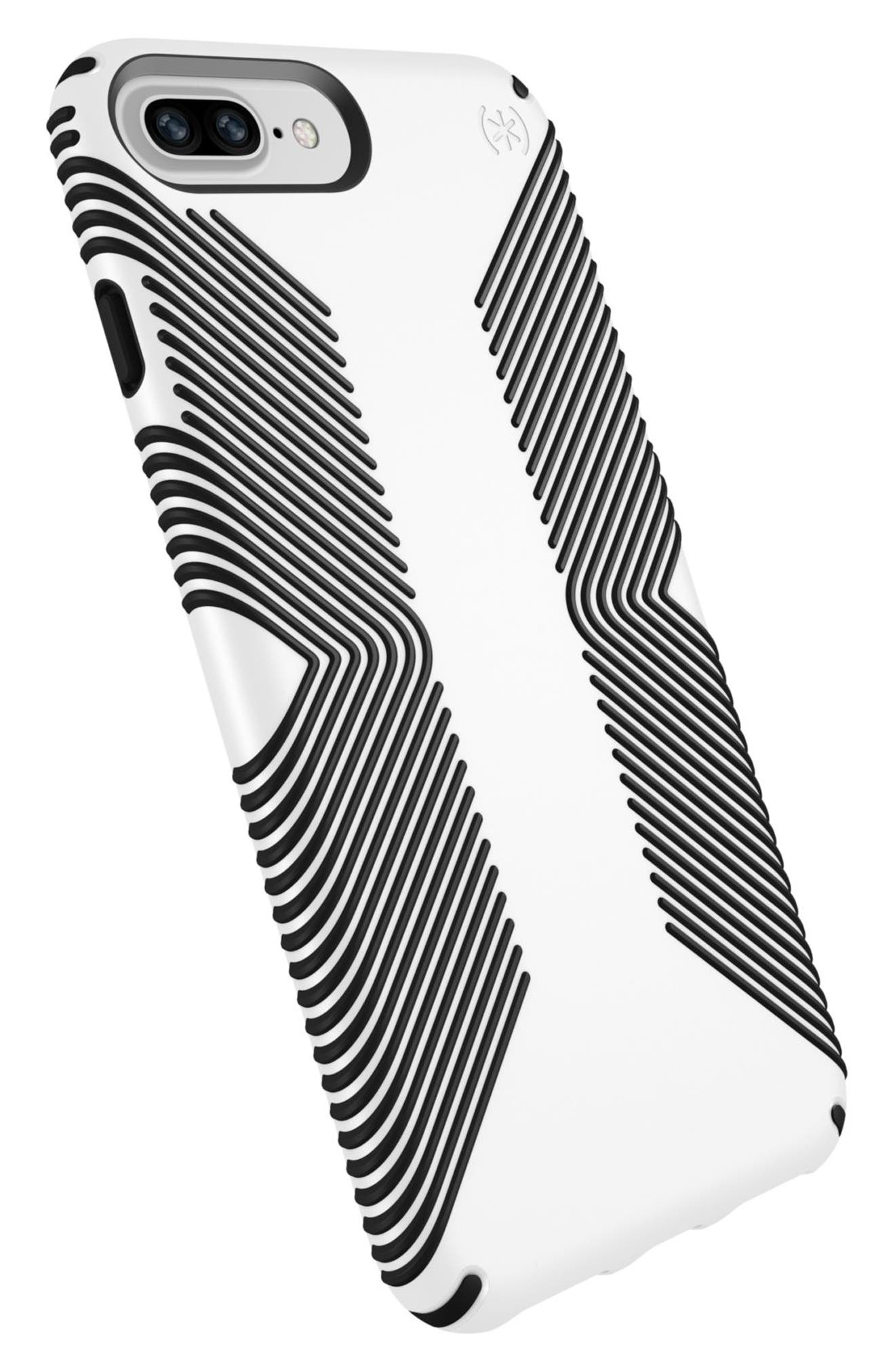 Grip iPhone 6/6s/7/8 Plus Case,                             Alternate thumbnail 5, color,                             White/ Black