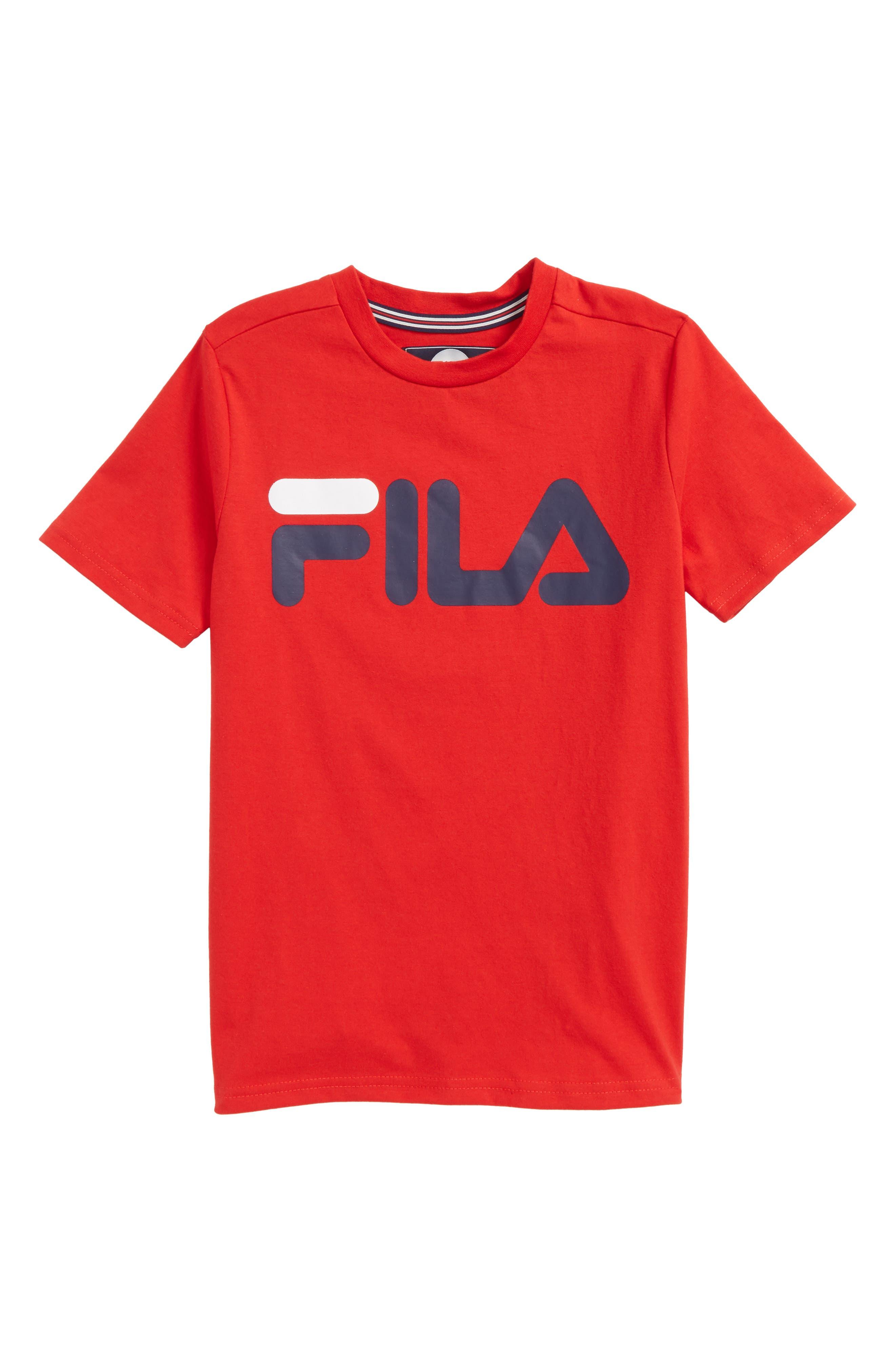 Alternate Image 1 Selected - FILA Classic Logo T-Shirt (Big Boys)