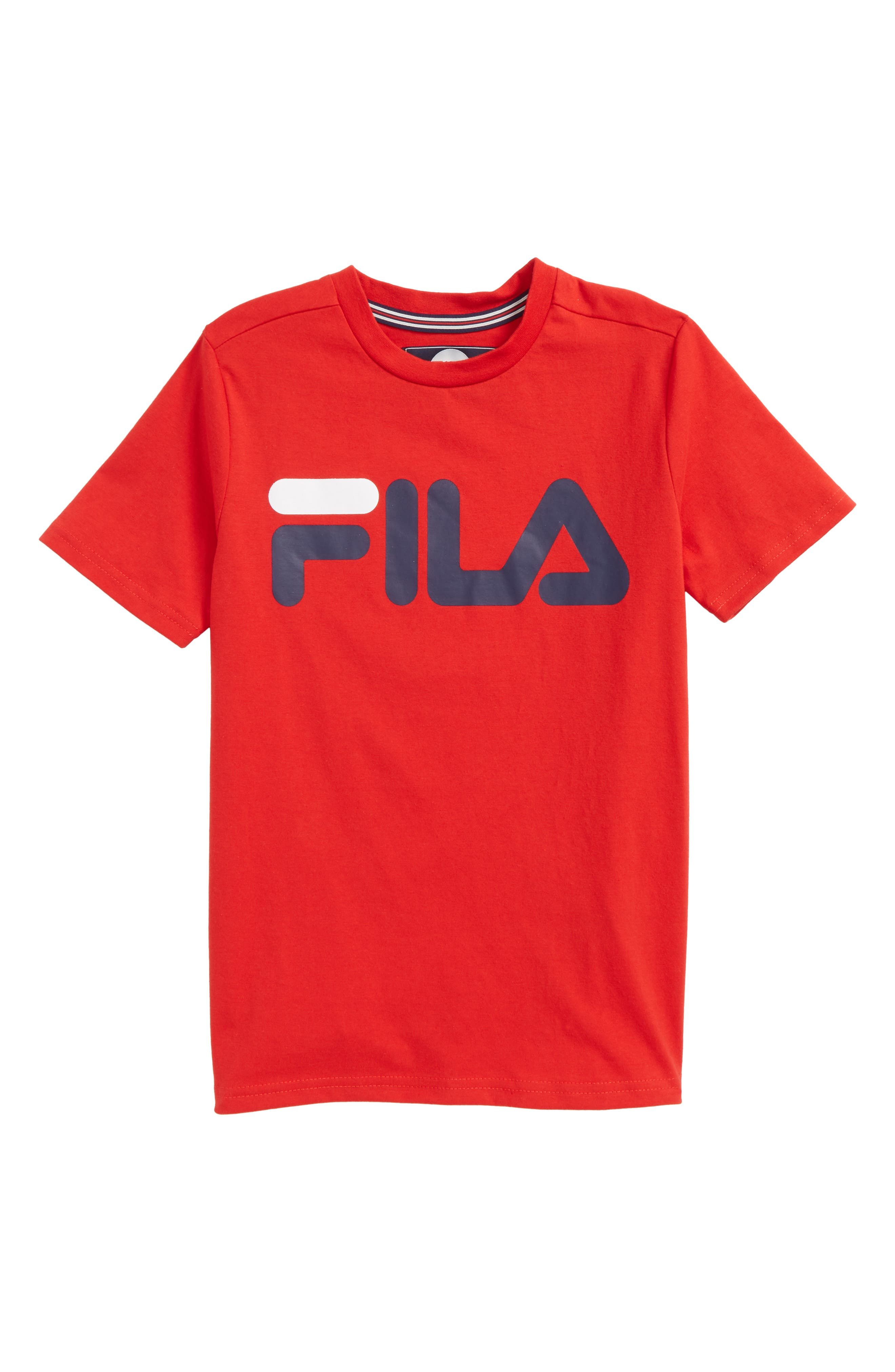 Main Image - FILA Classic Logo T-Shirt (Big Boys)