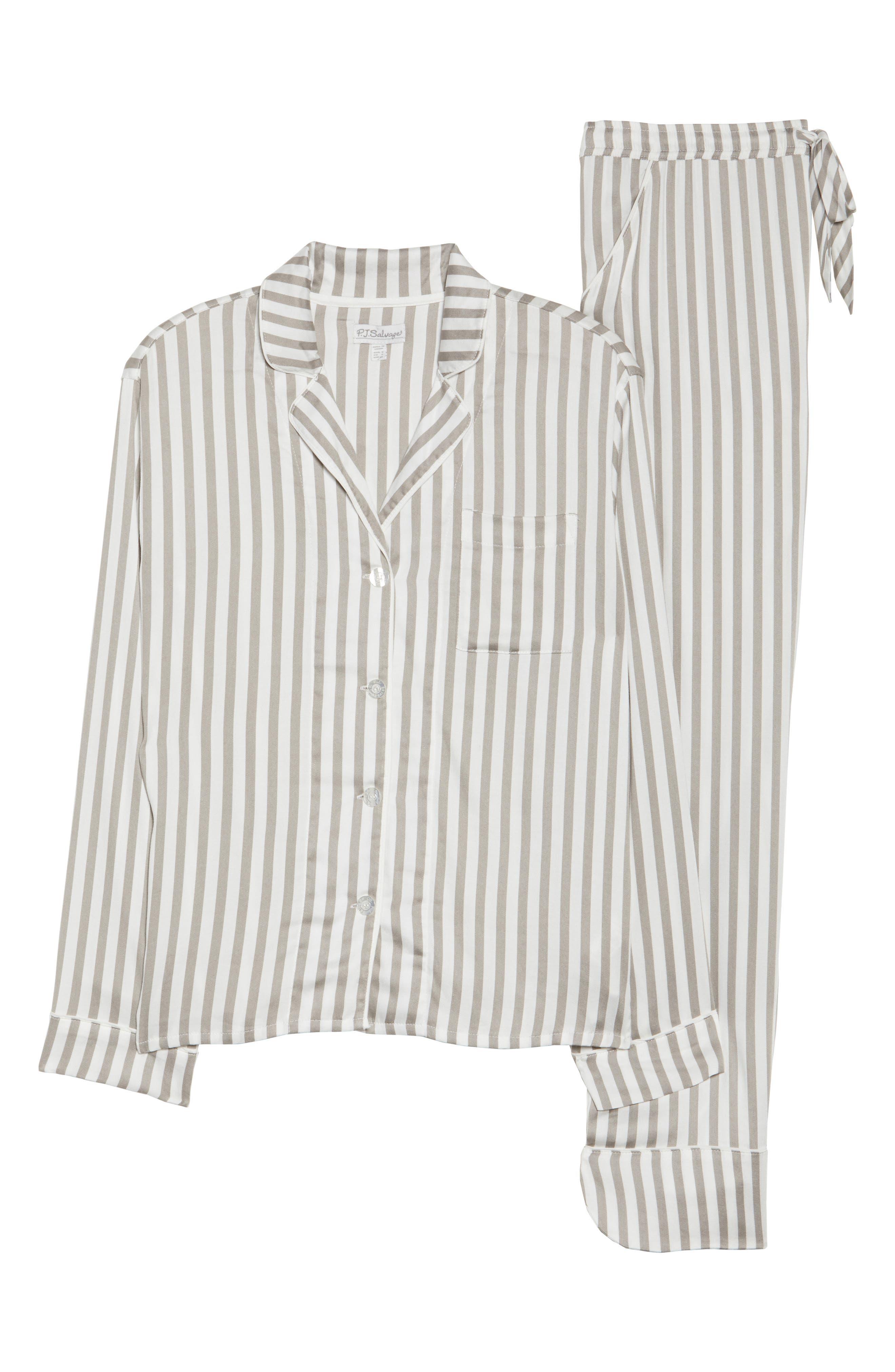 Alternate Image 6  - PJ Salvage Stripe Pajamas