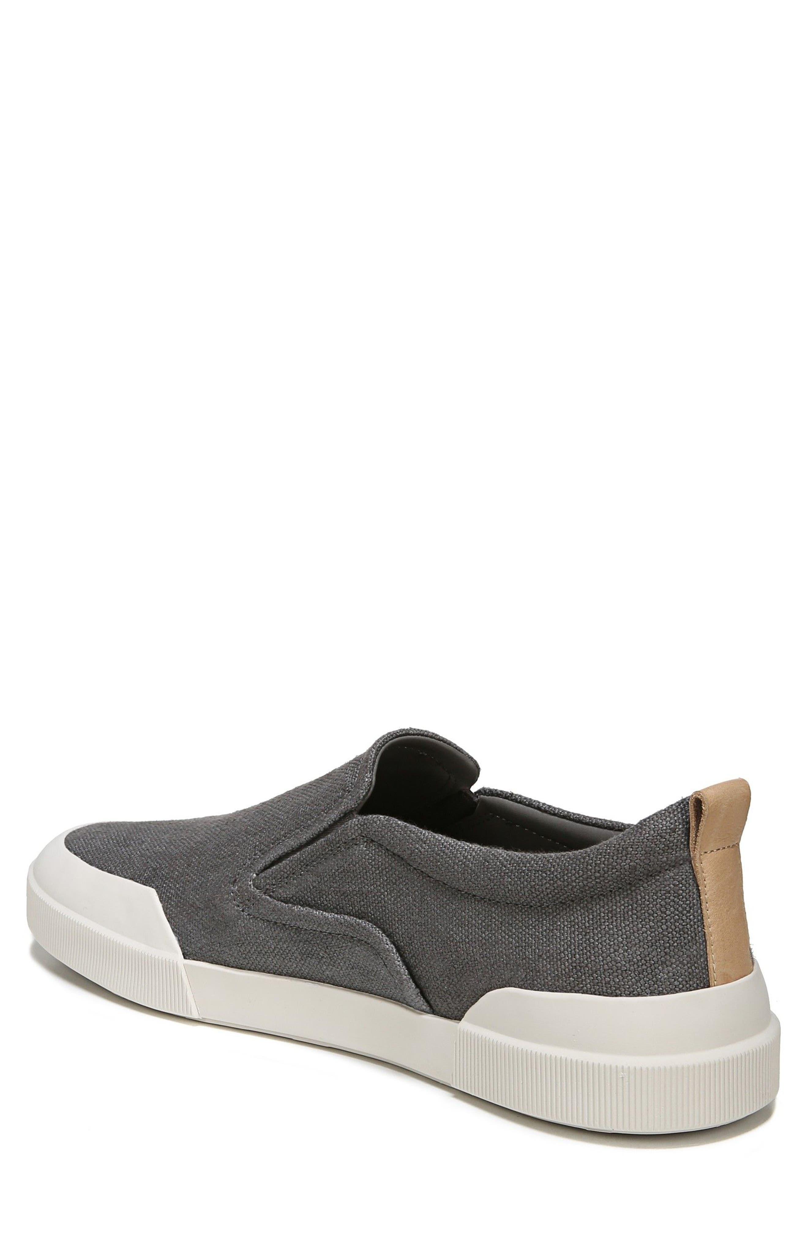 Vernon Slip-On Sneaker,                             Alternate thumbnail 2, color,                             Graphite/ Cuoio