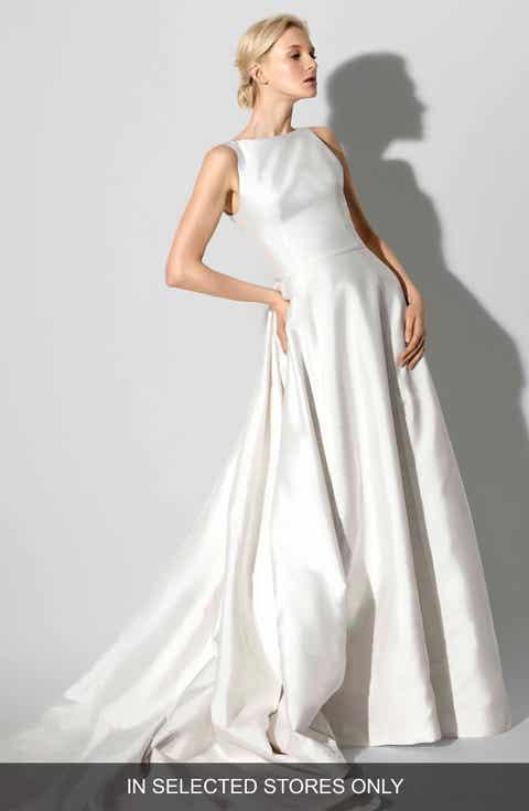 Womens carolina herrera wedding dresses bridal gowns nordstrom carolina herrera francesca bateau neck a line gown junglespirit Choice Image