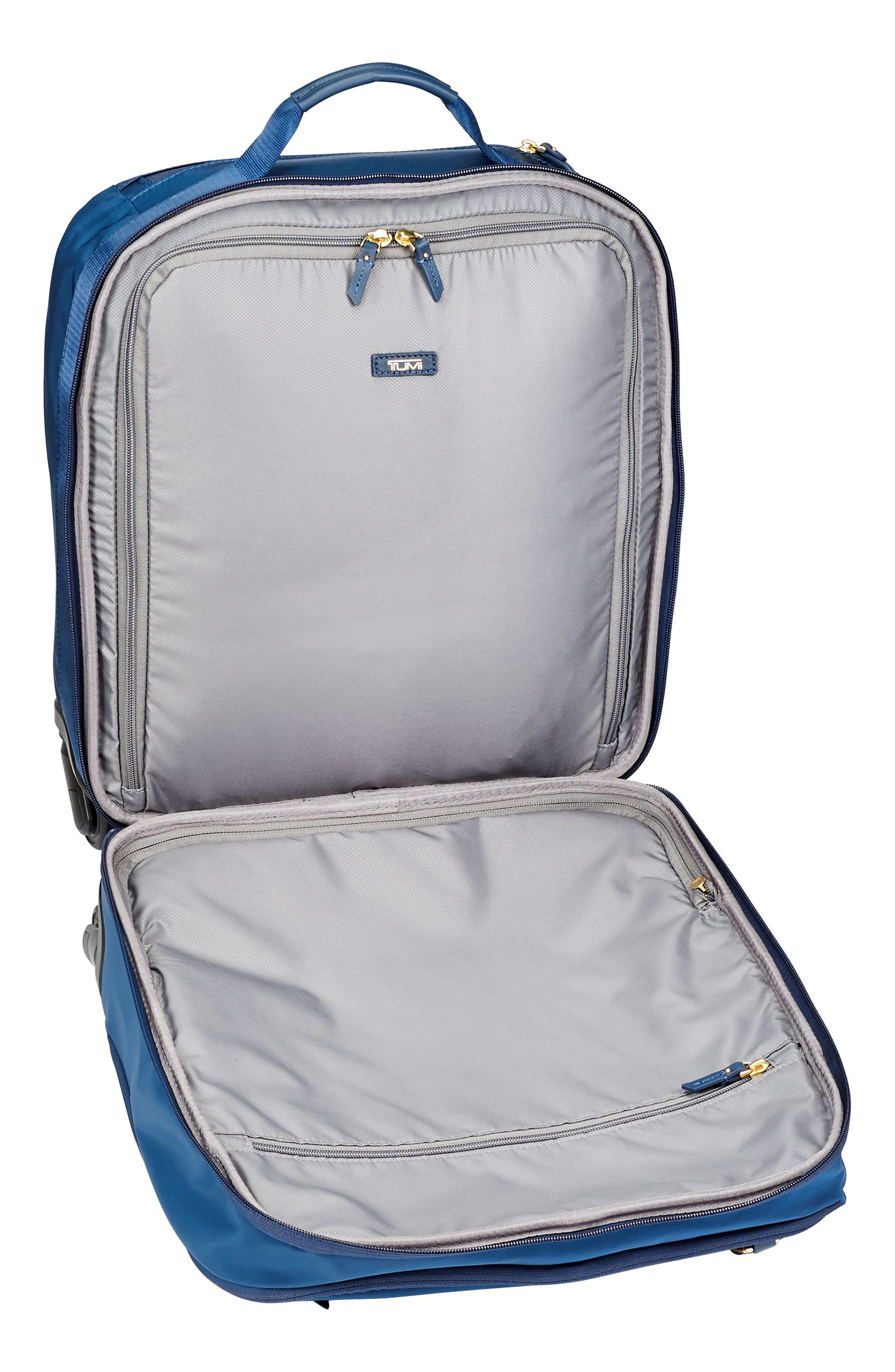 Voyageur - Oslo Compact 15-Inch Wheeled Carry-On,                             Alternate thumbnail 5, color,                             Ocean Blue