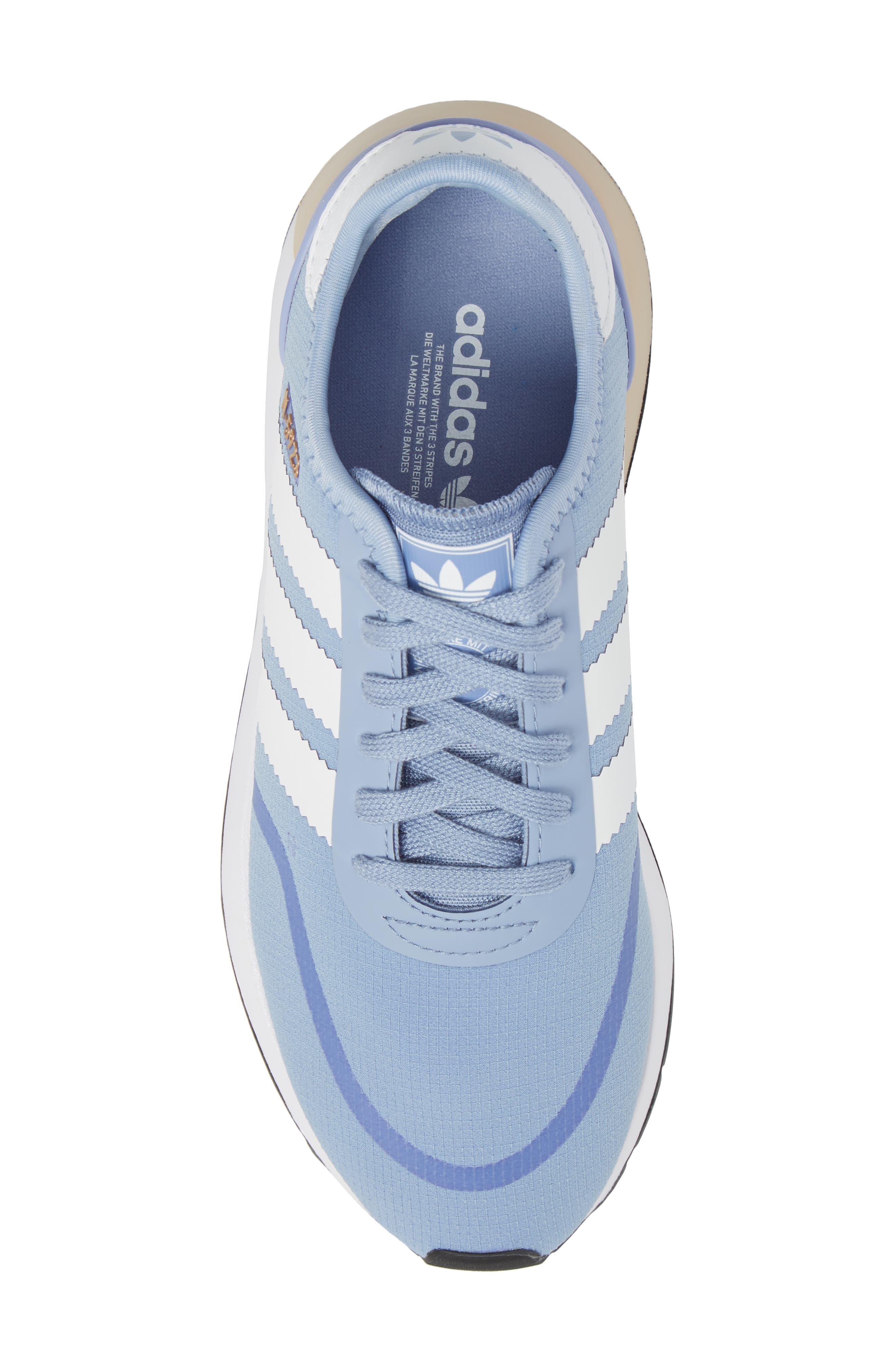 I-5923 Sneaker,                             Alternate thumbnail 5, color,                             Chalk Blue/ White/ White