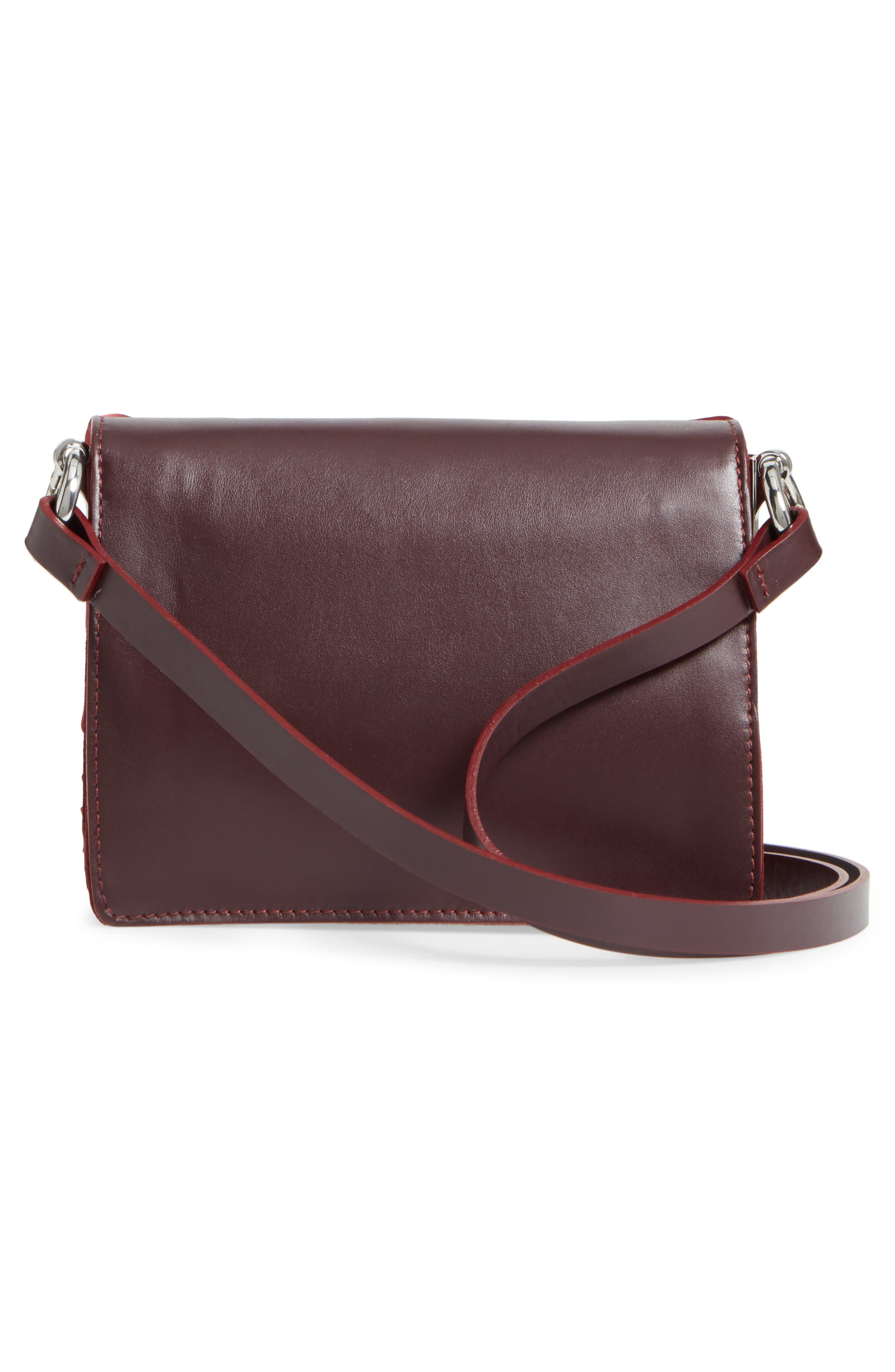Alternate Image 3  - Topshop Premium Leather Grace Crossbody Bag