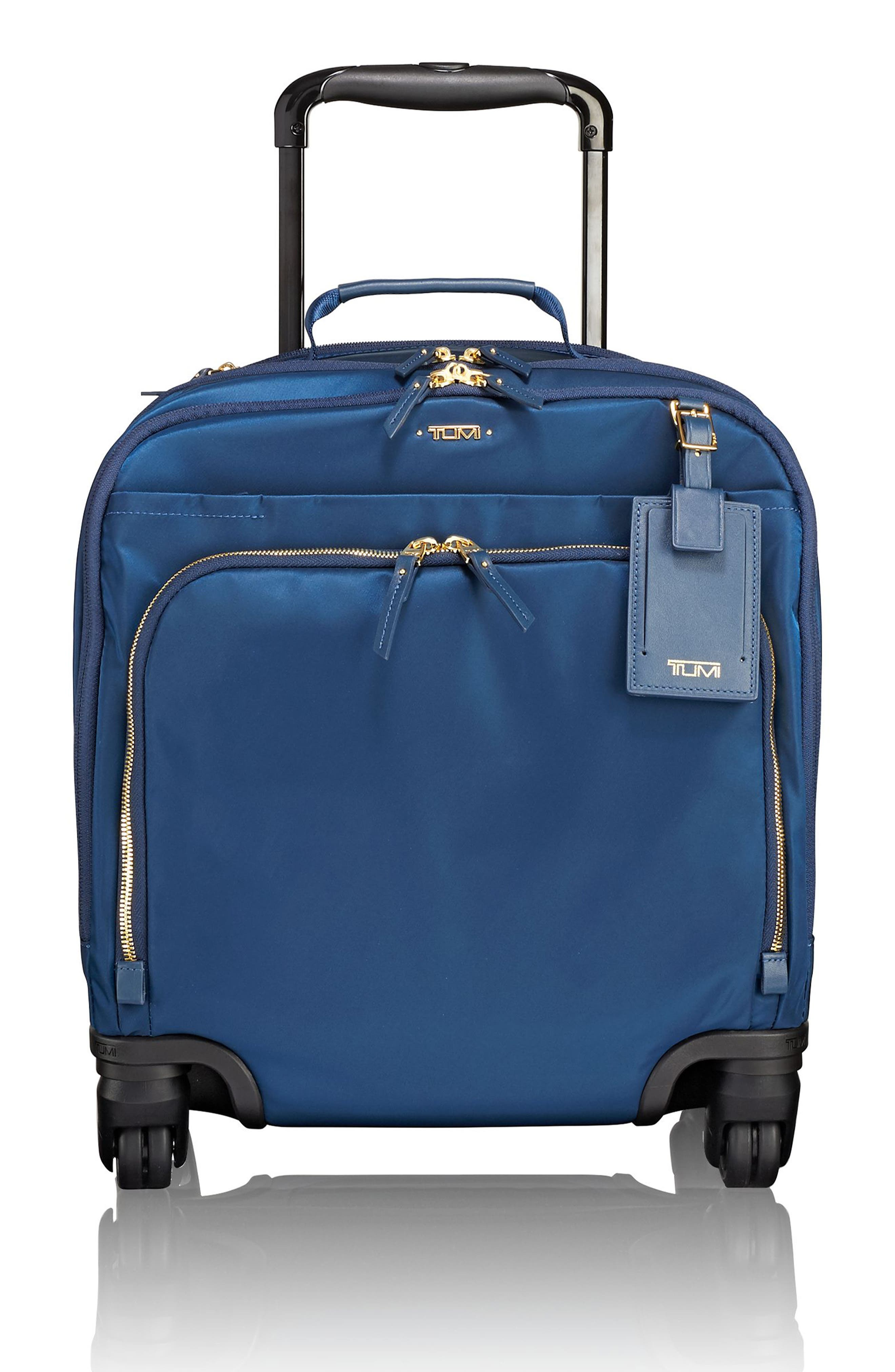 Voyageur - Oslo Compact 15-Inch Wheeled Carry-On,                             Main thumbnail 1, color,                             Ocean Blue