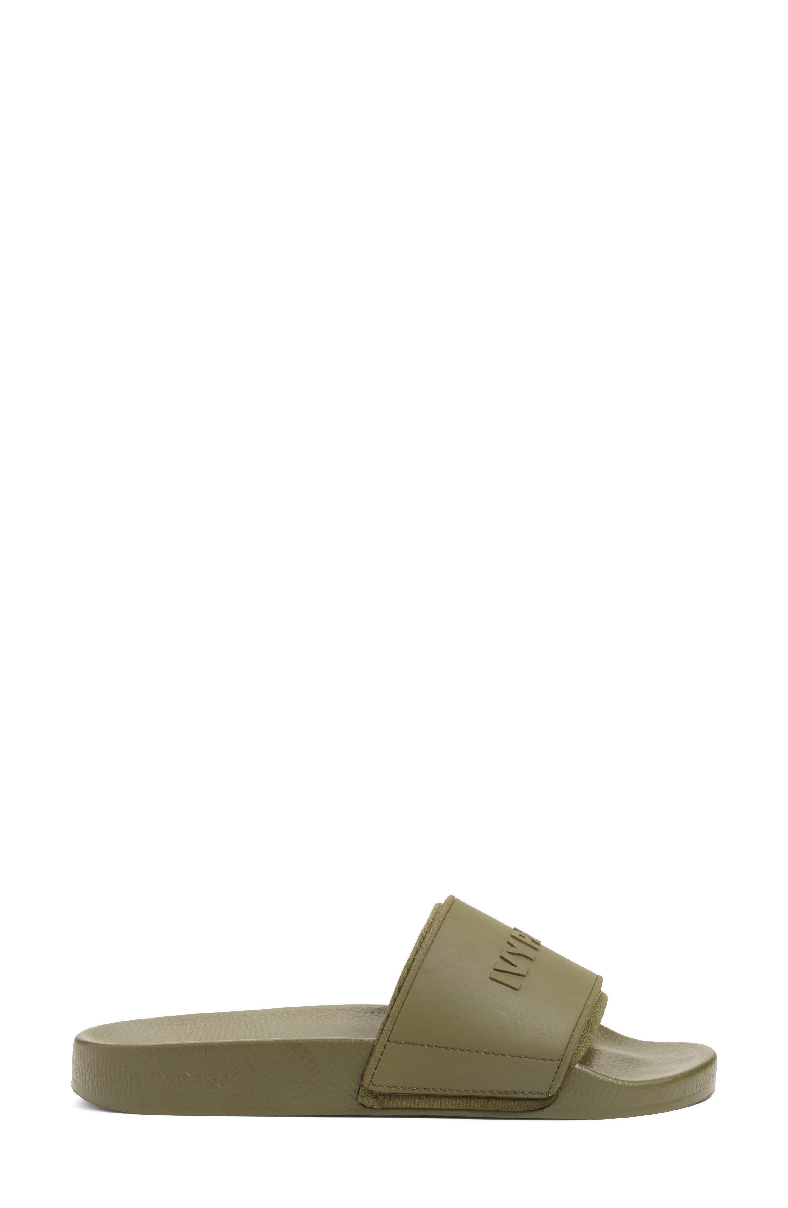 Alternate Image 3  - IVY PARK® Embossed Logo Sock Slide Sandal (Women)