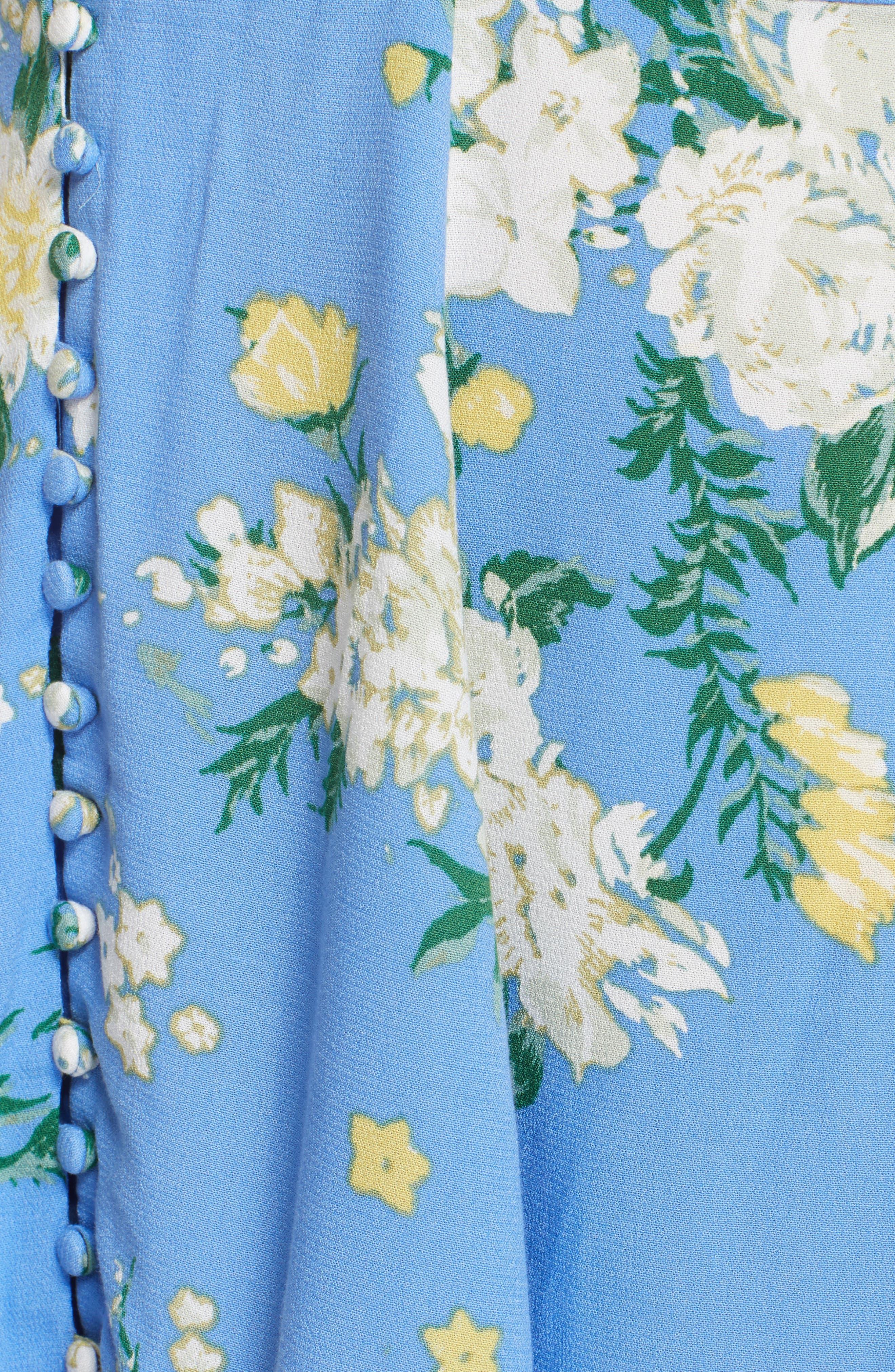 Alora Minidress,                             Alternate thumbnail 5, color,                             Blue Combo