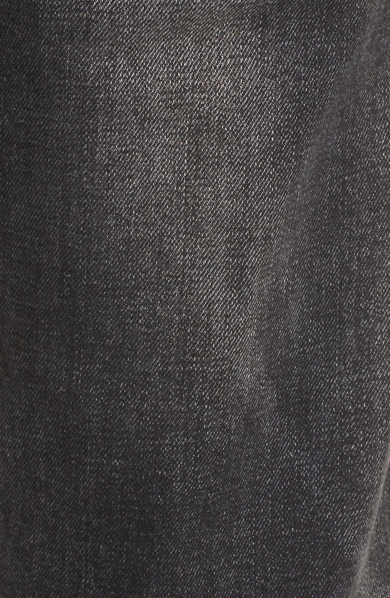 Blinder Biker Skinny Fit Jeans,                             Alternate thumbnail 5, color,                             Hacker