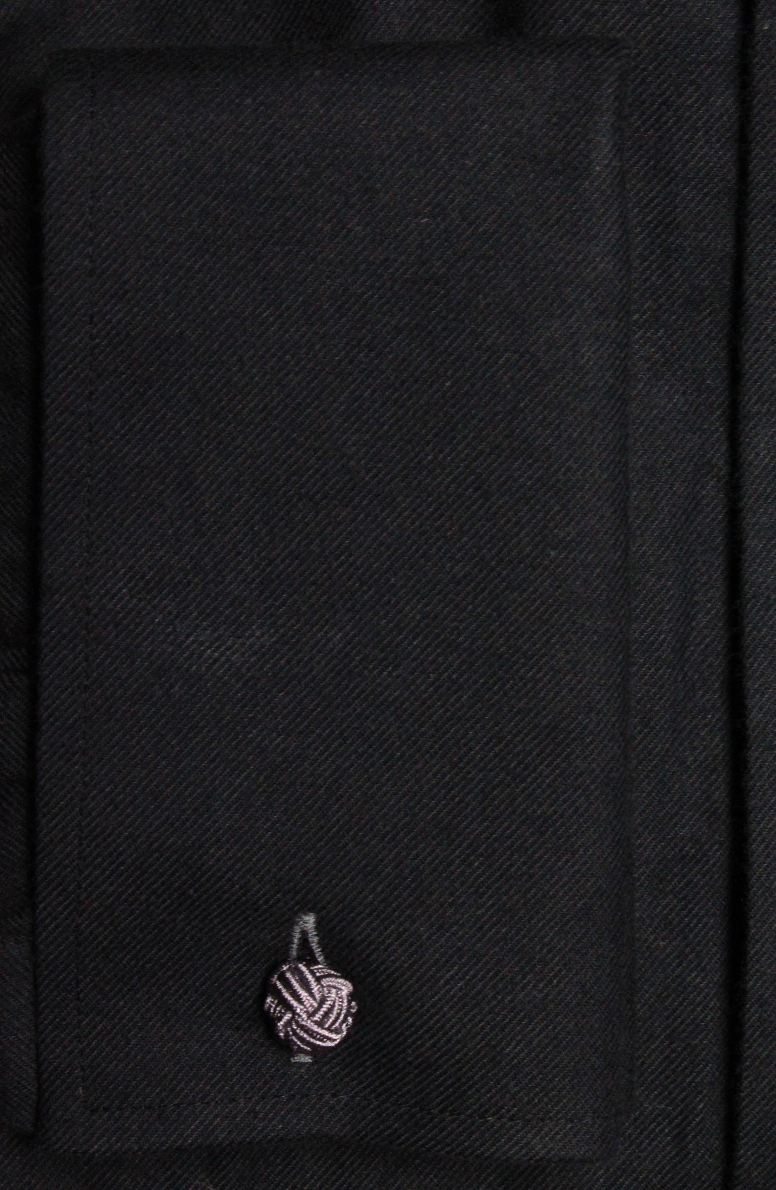 Alternate Image 2  - Lorenzo Uomo Trim Fit Tuxedo Shirt
