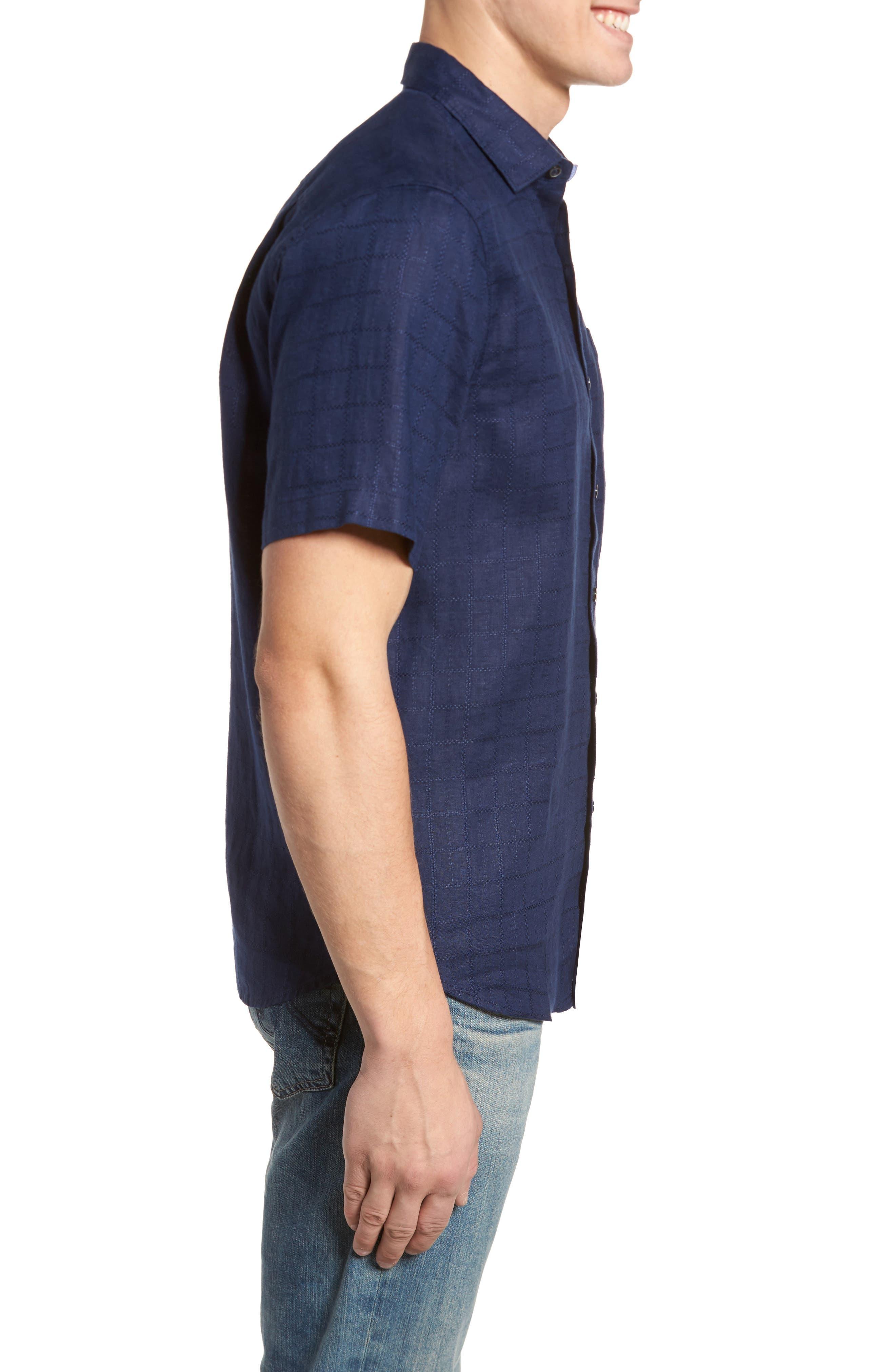 Alternate Image 3  - Tommy Bahama Costa Sera Linen Sport Shirt