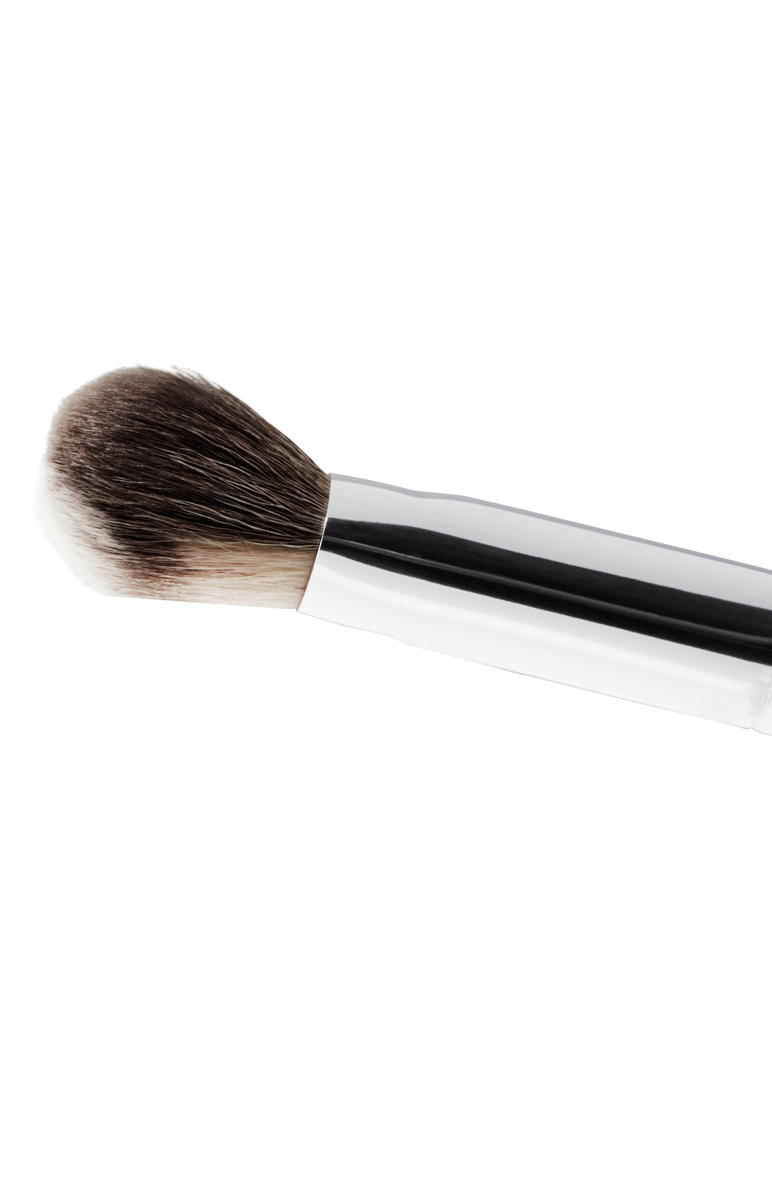 MAC 128S Synthetic Split Fibre Cheek Brush,                             Alternate thumbnail 4, color,                             No Color