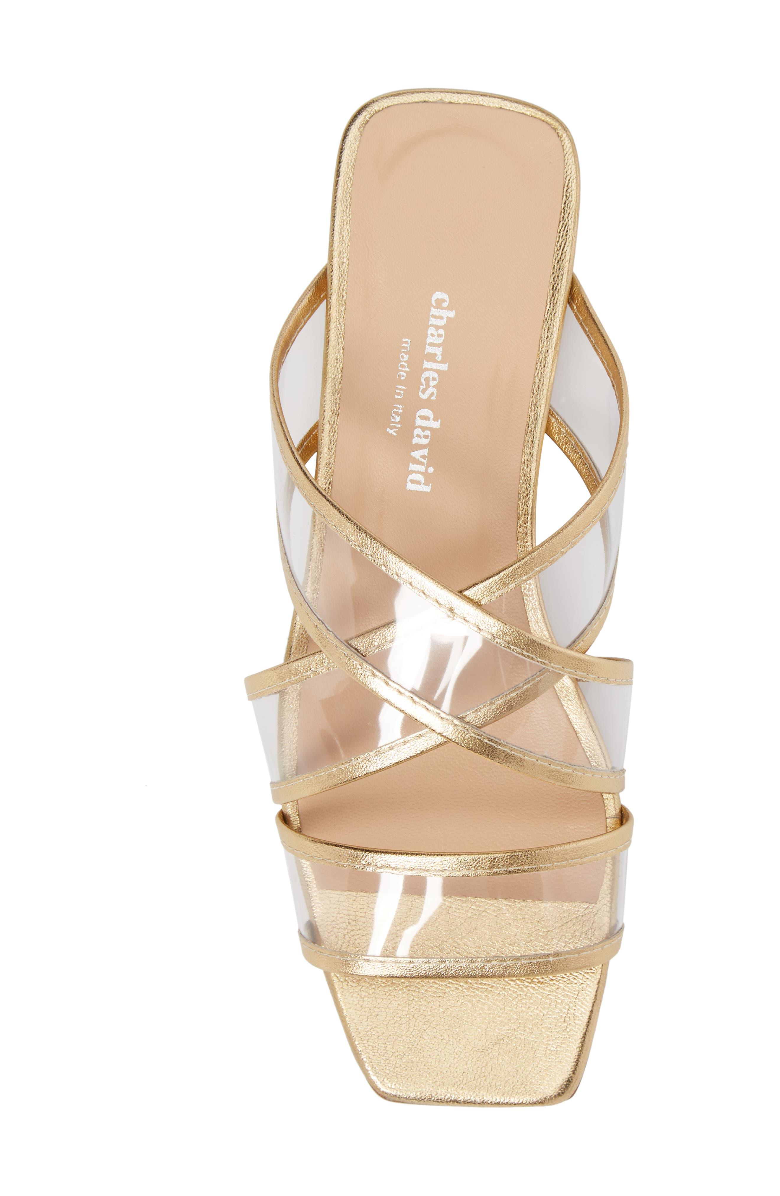 Alternate Image 5  - Charles David Drea Transparent Strap Slide Sandal (Women)