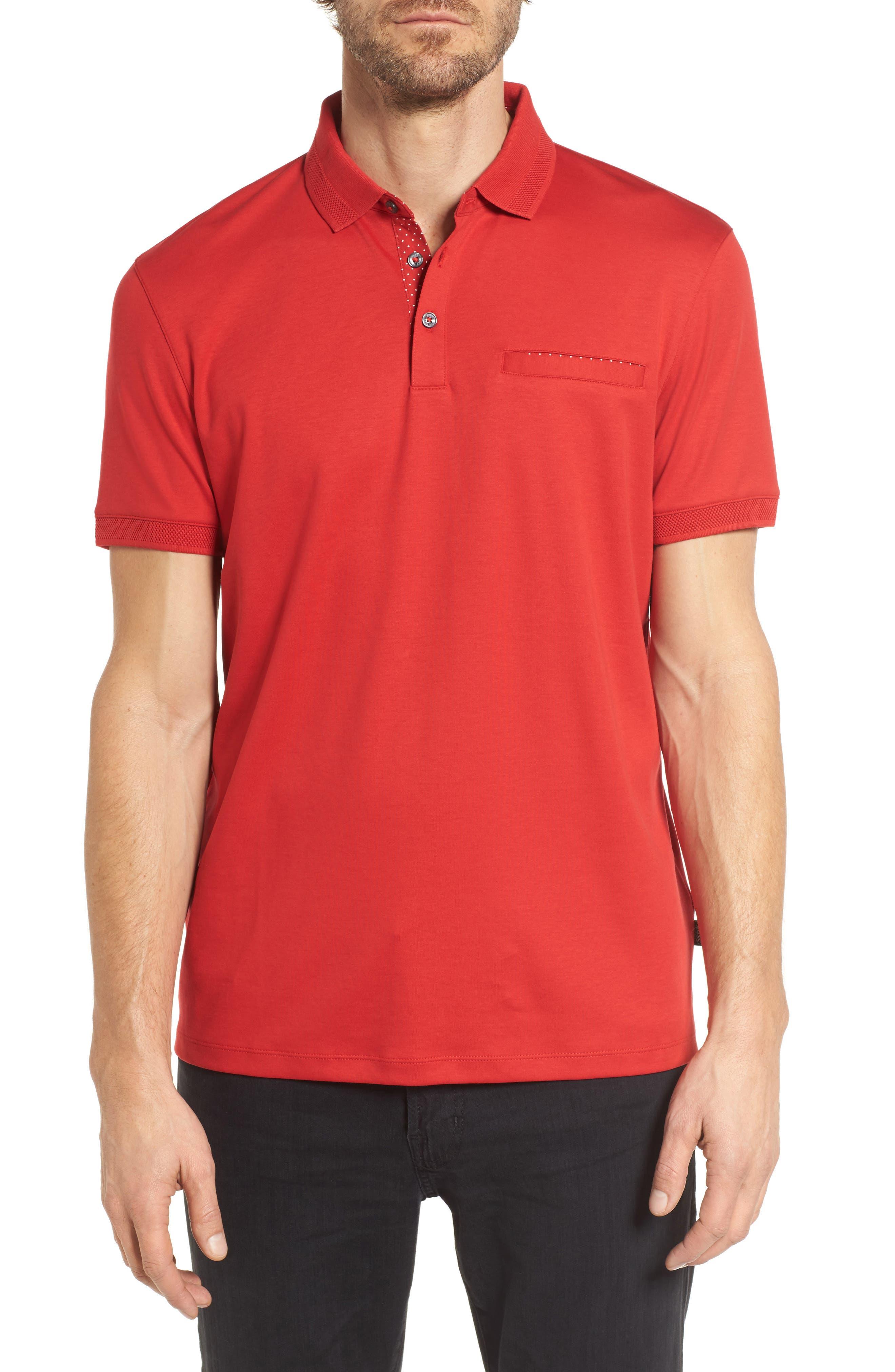 boss polo shirts for men