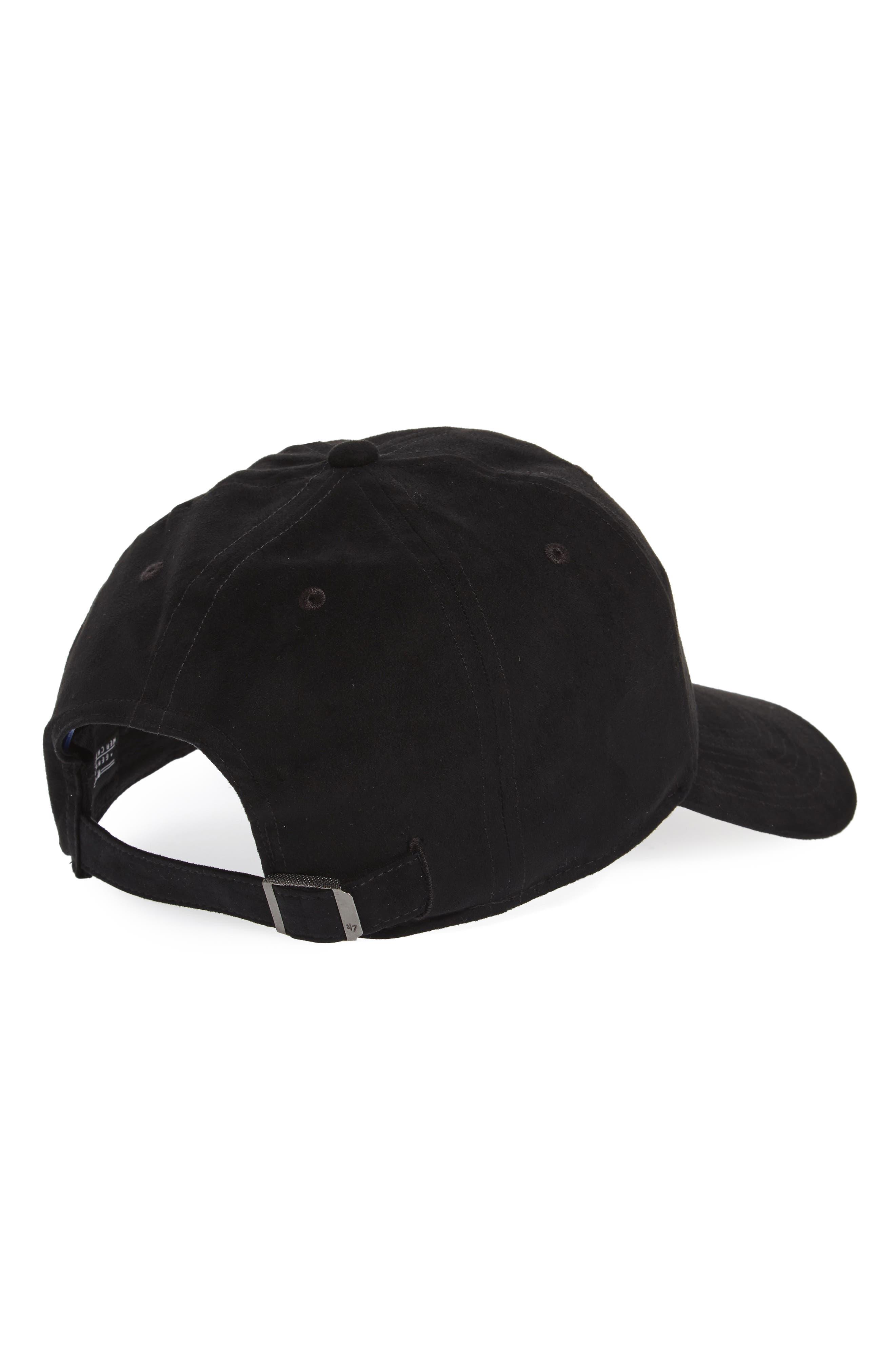 Ultrabasic Clean Up New York Yankees Baseball Cap,                             Alternate thumbnail 2, color,                             Black