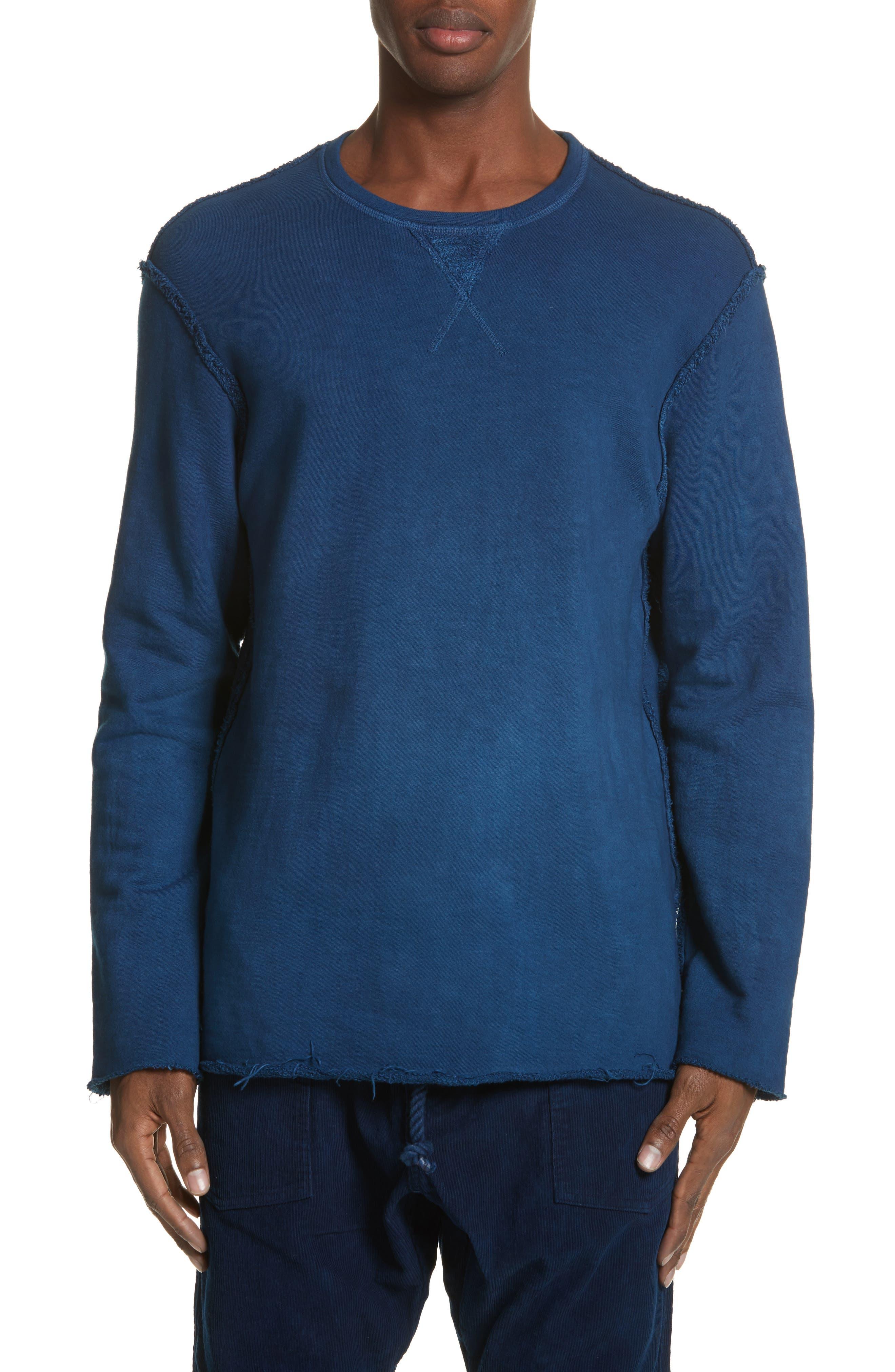 Malibu Reversible Sweatshirt,                             Alternate thumbnail 2, color,                             Indigo