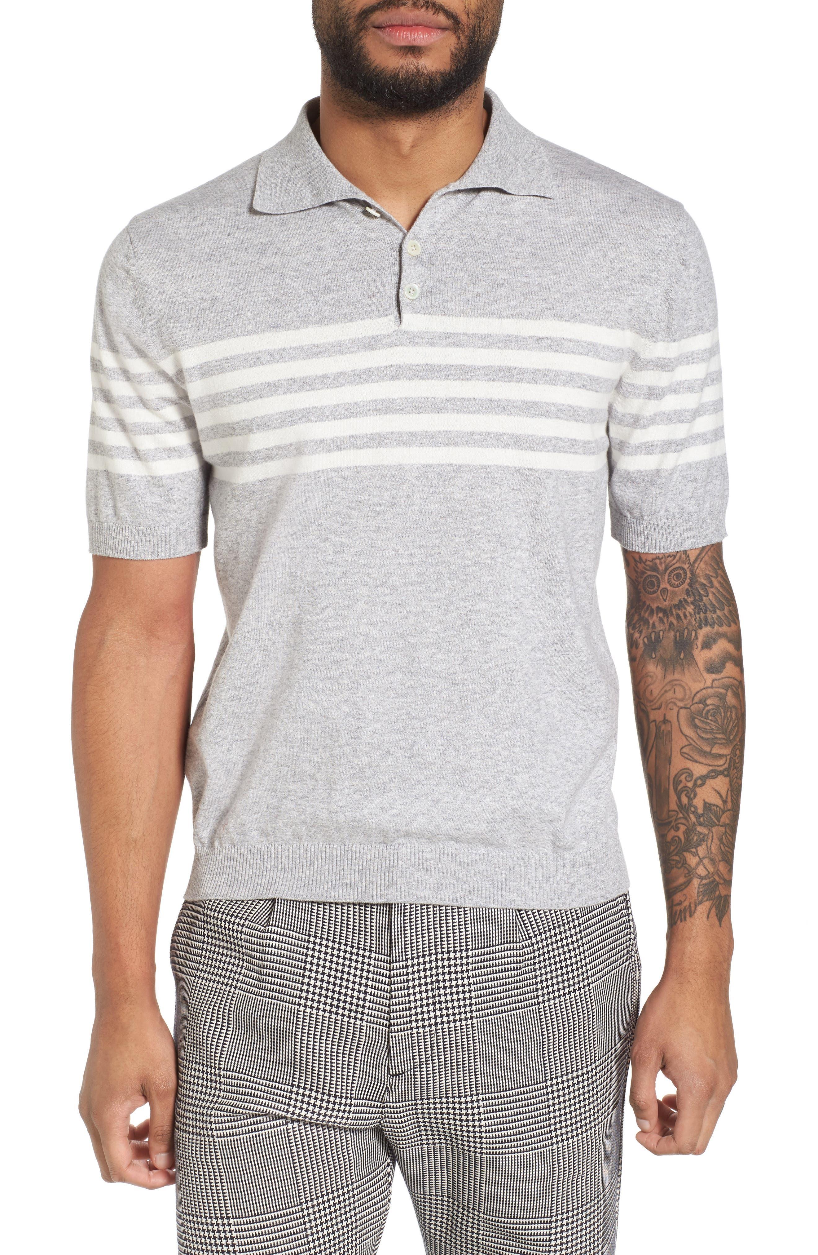 Eleventy Stripe Sweater