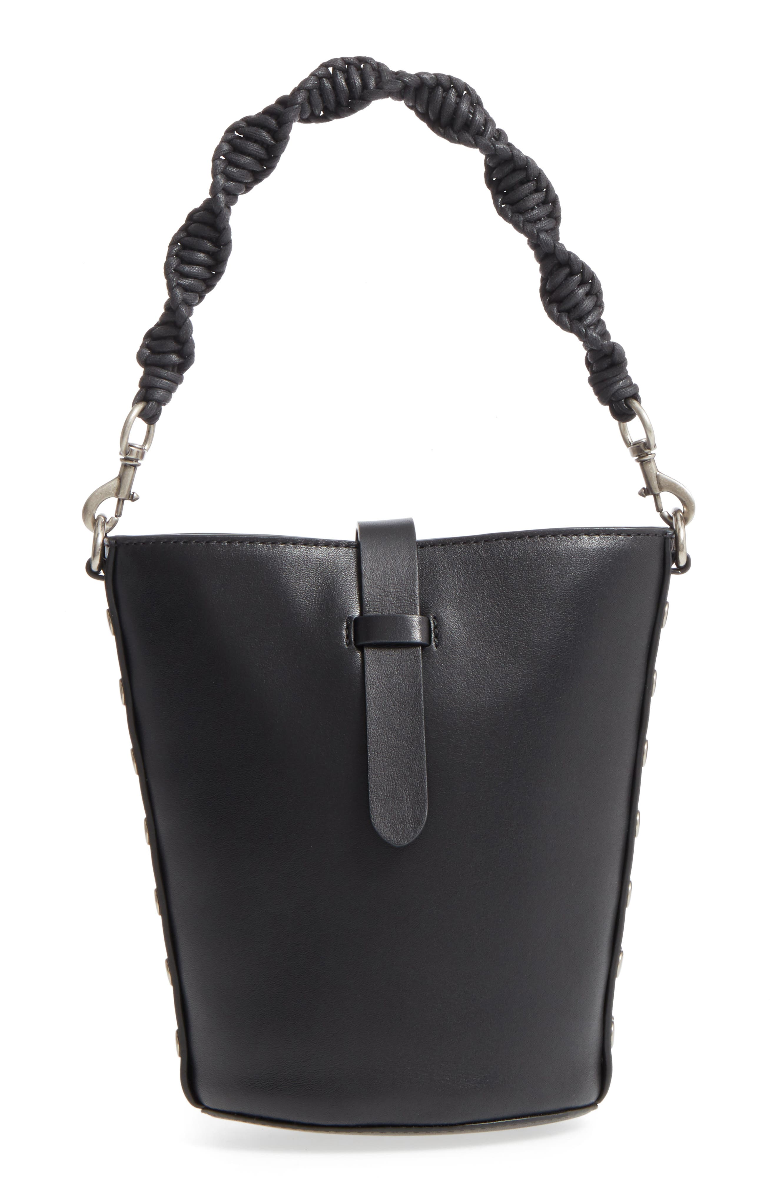 Alternate Image 1 Selected - Rebecca Minkoff Slim Leather Bucket Bag