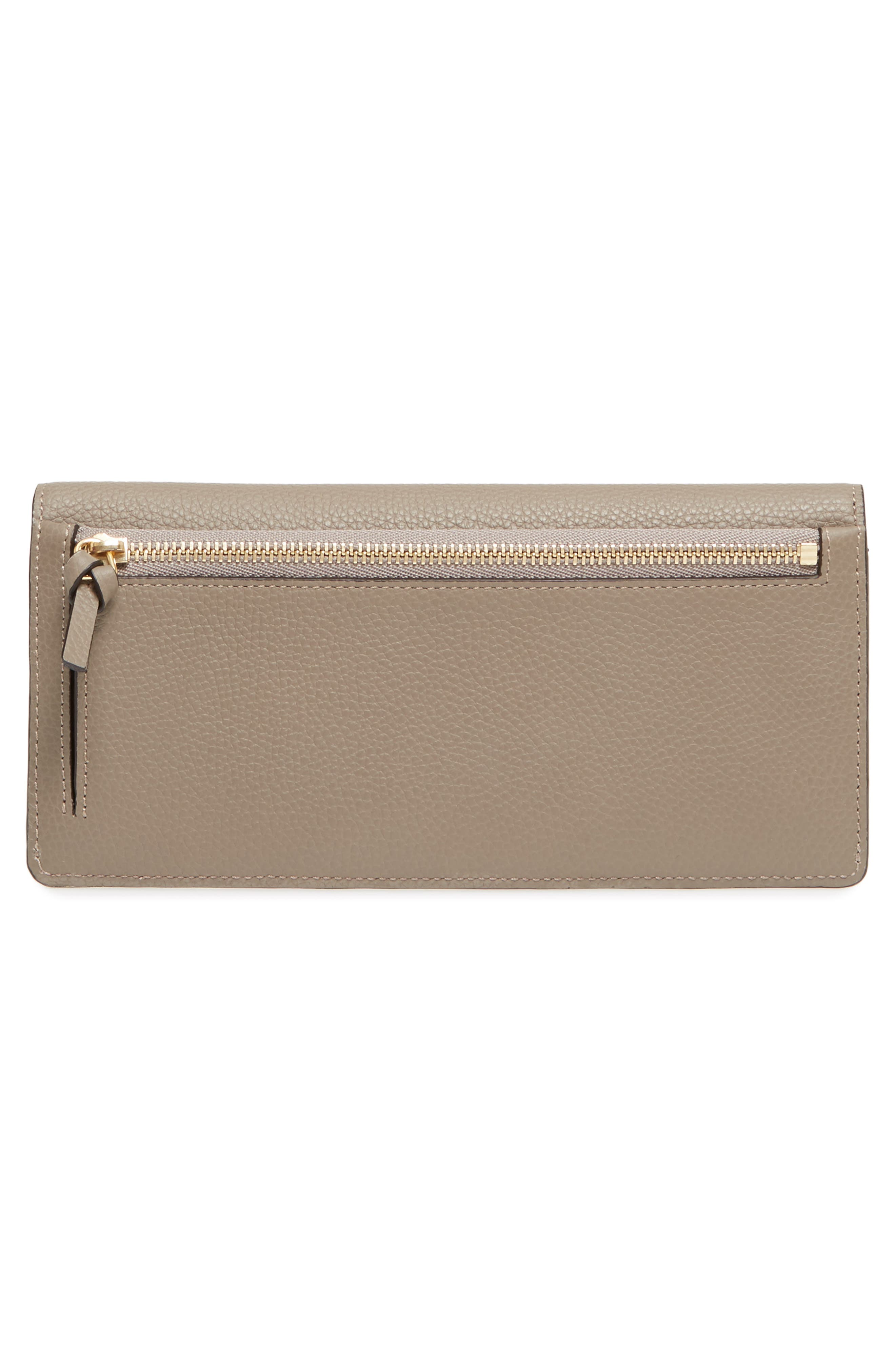 Alternate Image 4  - Chloé Georgia Continental Leather Wallet