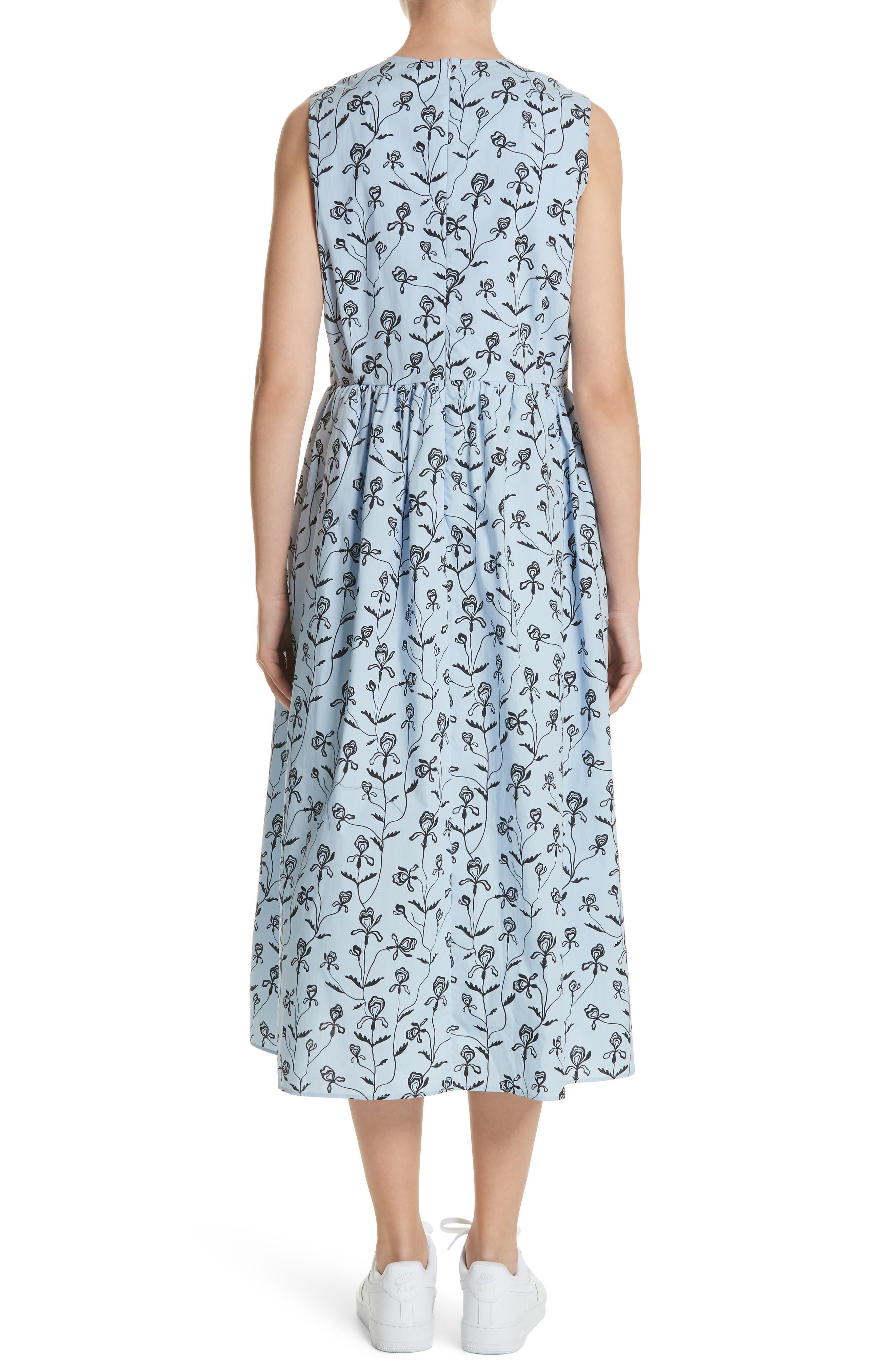 Alternate Image 2  - Sofie D'Hoore Floral Print Sleeveless Dress