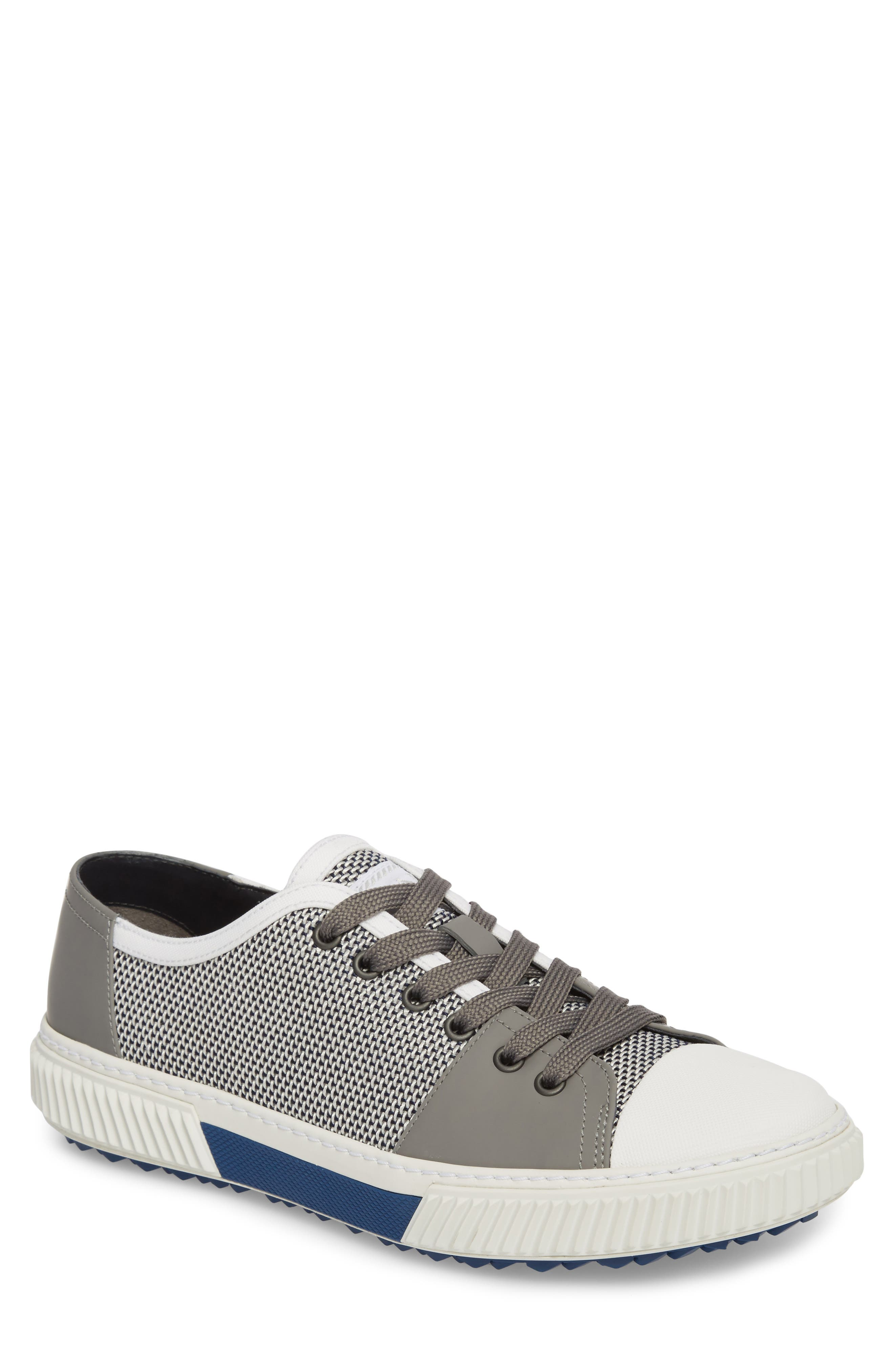Linea Rossa Low-Top Sneaker,                             Main thumbnail 1, color,                             Baltic White