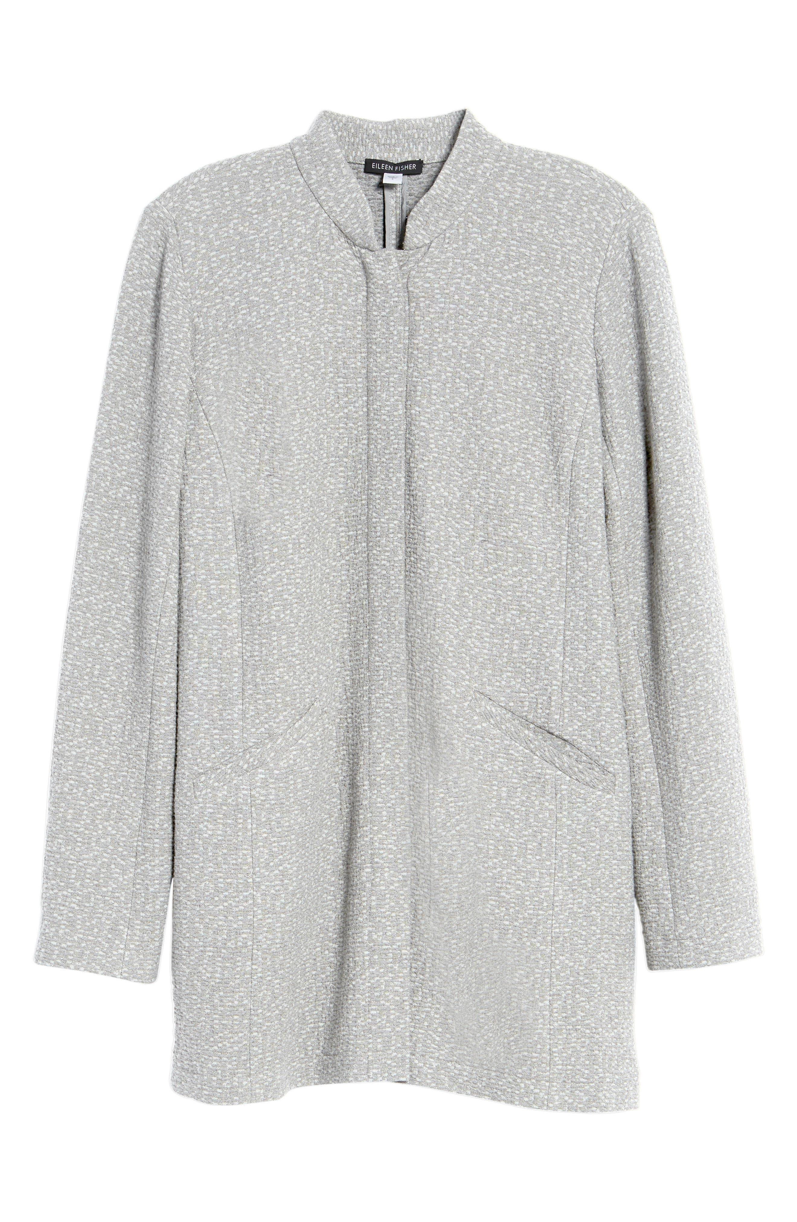 Tweed Jacket,                             Alternate thumbnail 6, color,                             Dark Pearl