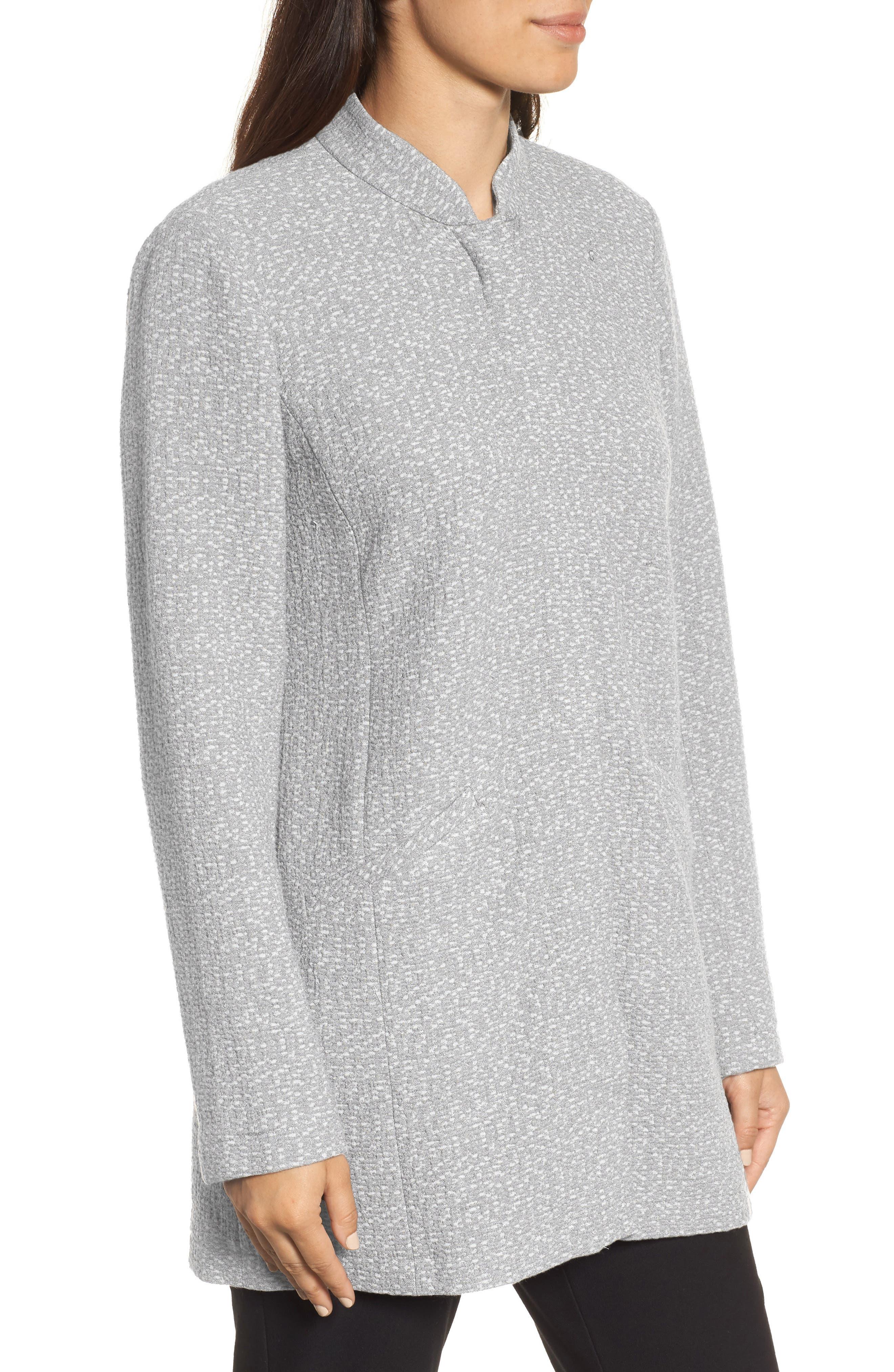 Tweed Jacket,                             Alternate thumbnail 3, color,                             Dark Pearl