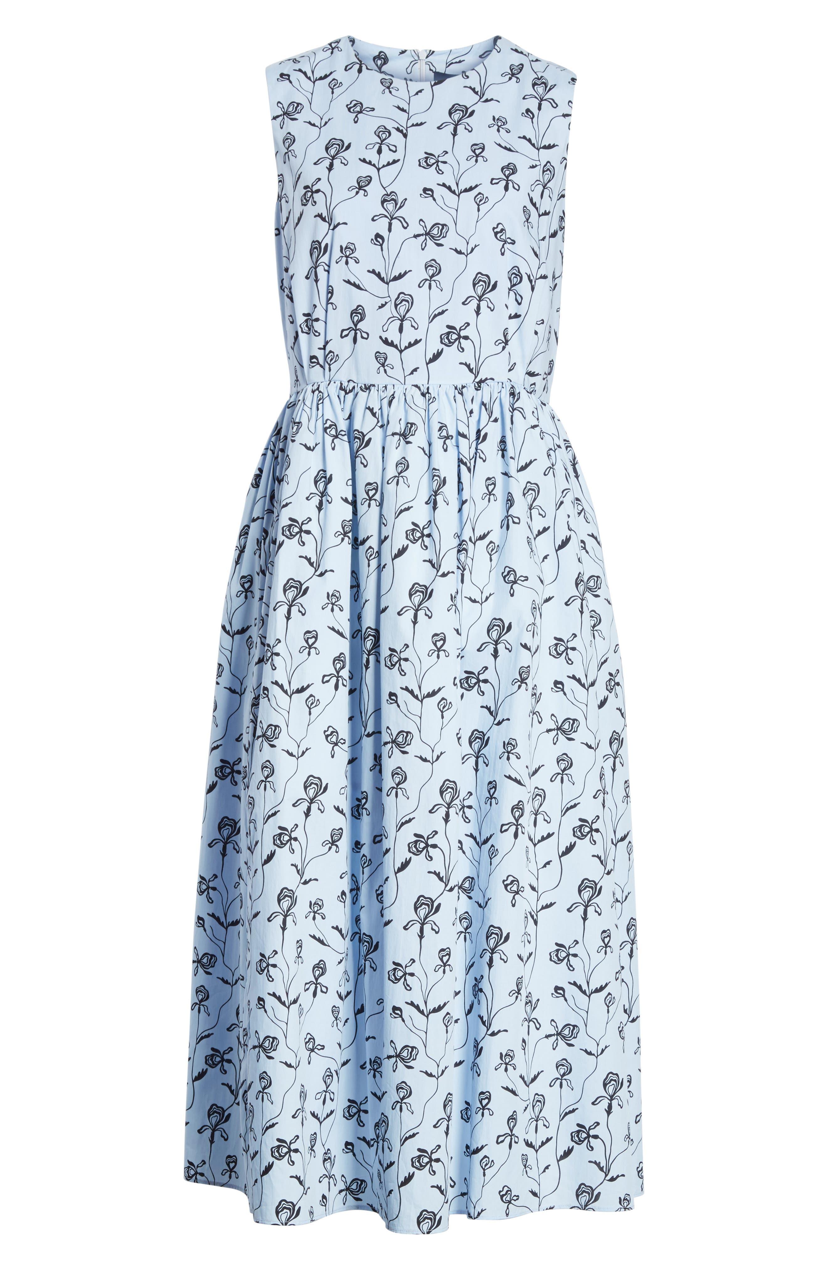 Alternate Image 6  - Sofie D'Hoore Floral Print Sleeveless Dress