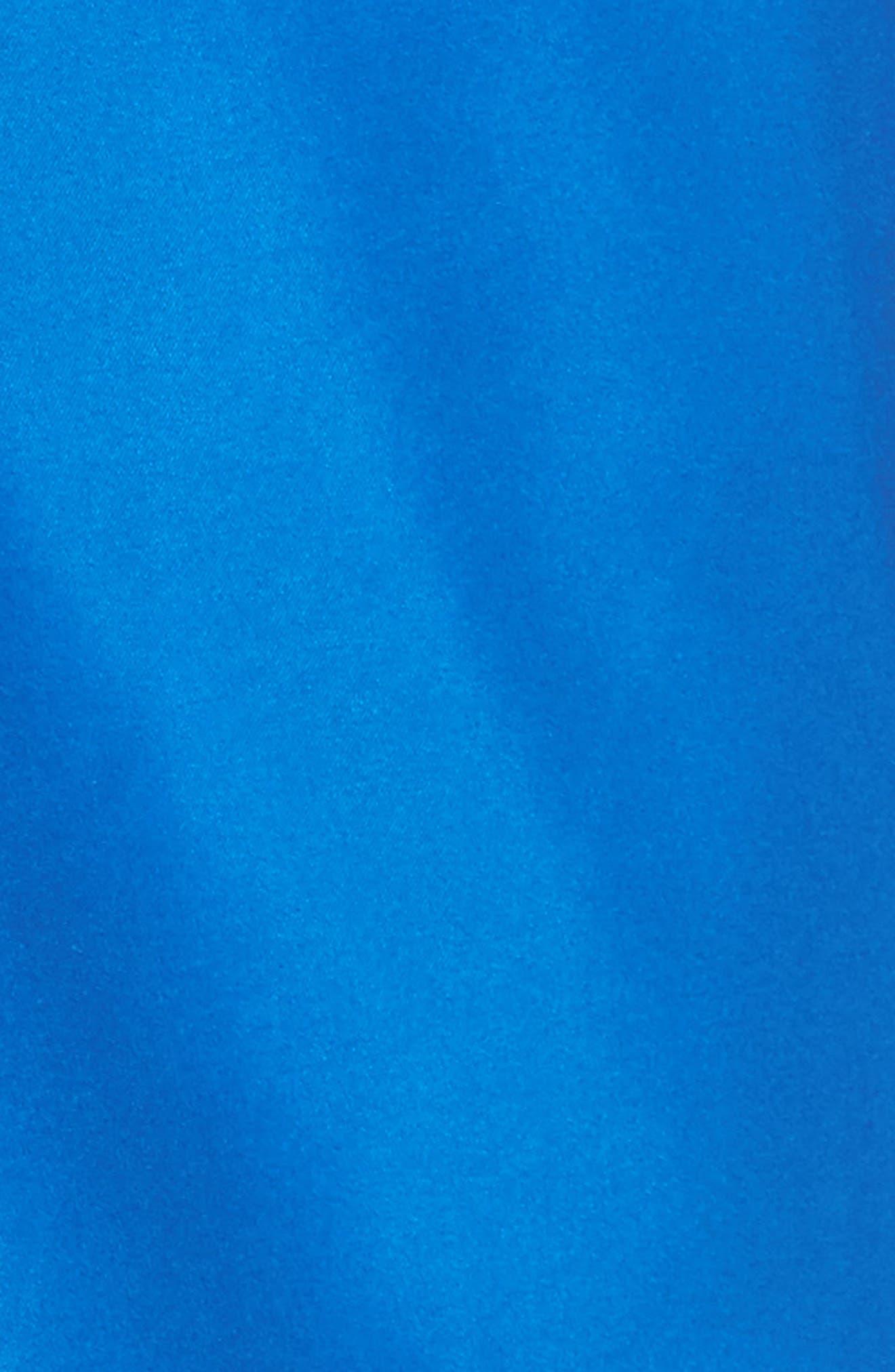 Swami Solid Board Shorts,                             Alternate thumbnail 5, color,                             Nautical Blue/ Marine