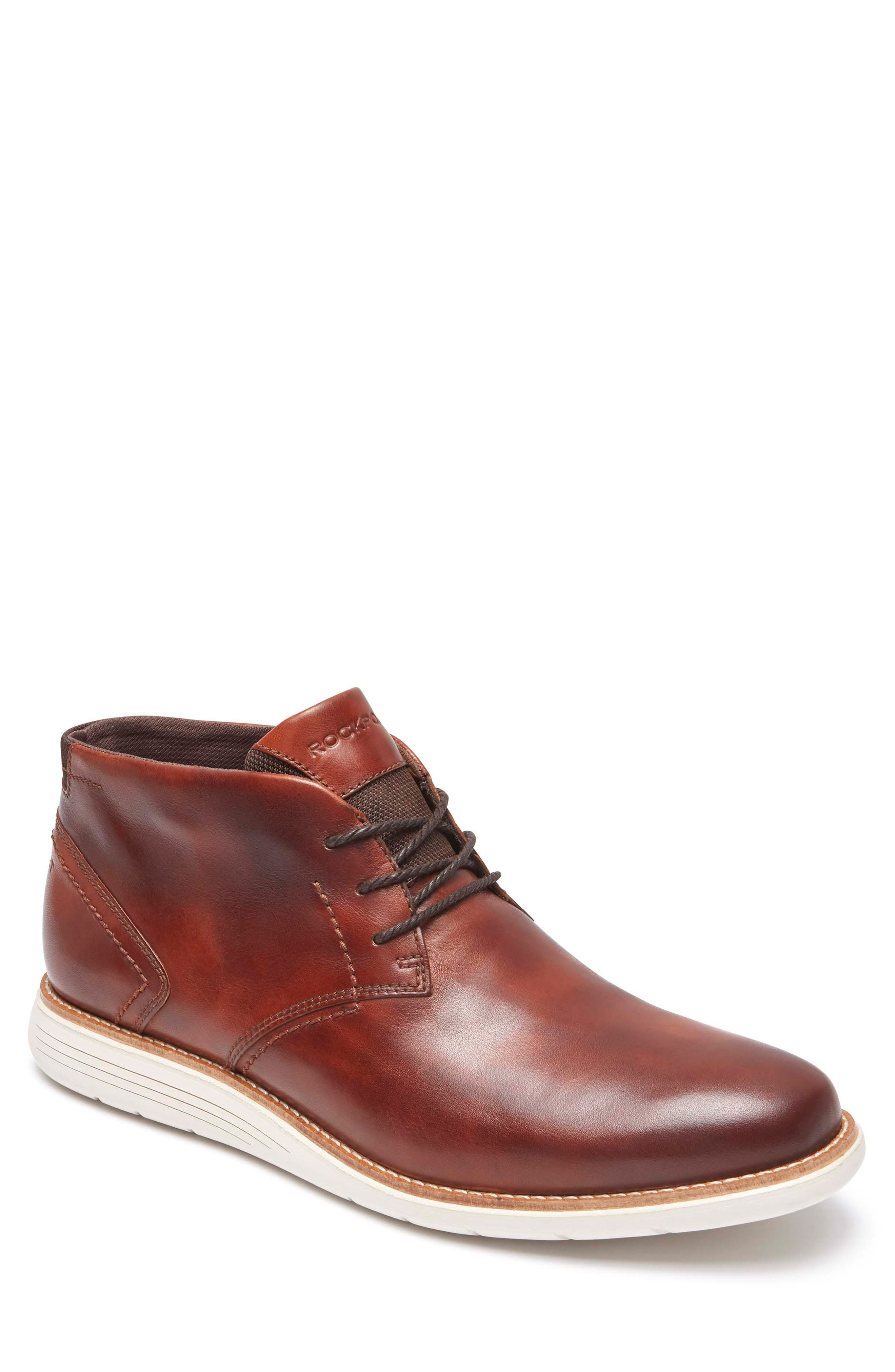 Total Motion Sport Dress Chukka Boot,                         Main,                         color, Tan Leather