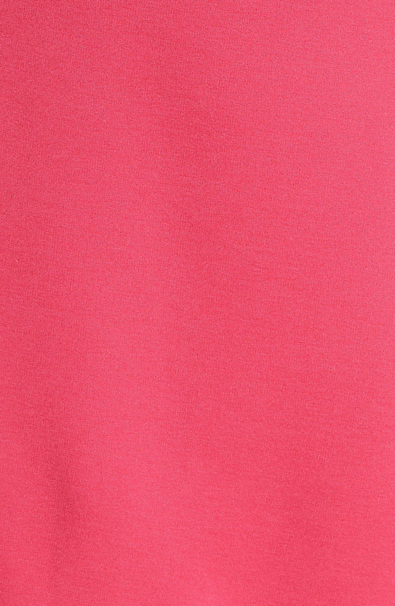 Asymmetric Sheath Dress,                             Alternate thumbnail 5, color,                             Pink Lilac