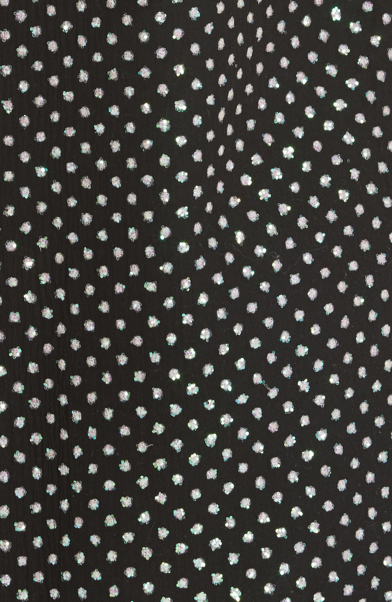 Creponne T-Shirt Dress,                             Alternate thumbnail 5, color,                             Black