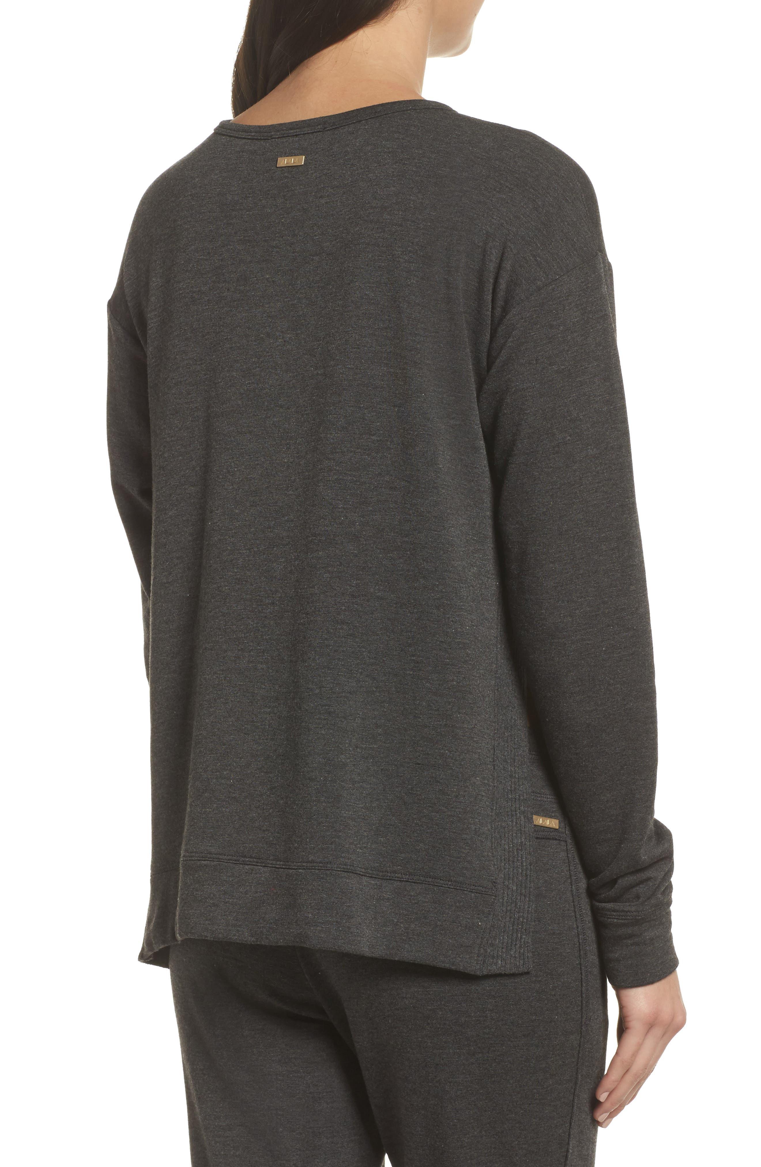 Crane Sweatshirt,                             Alternate thumbnail 2, color,                             Charcoal