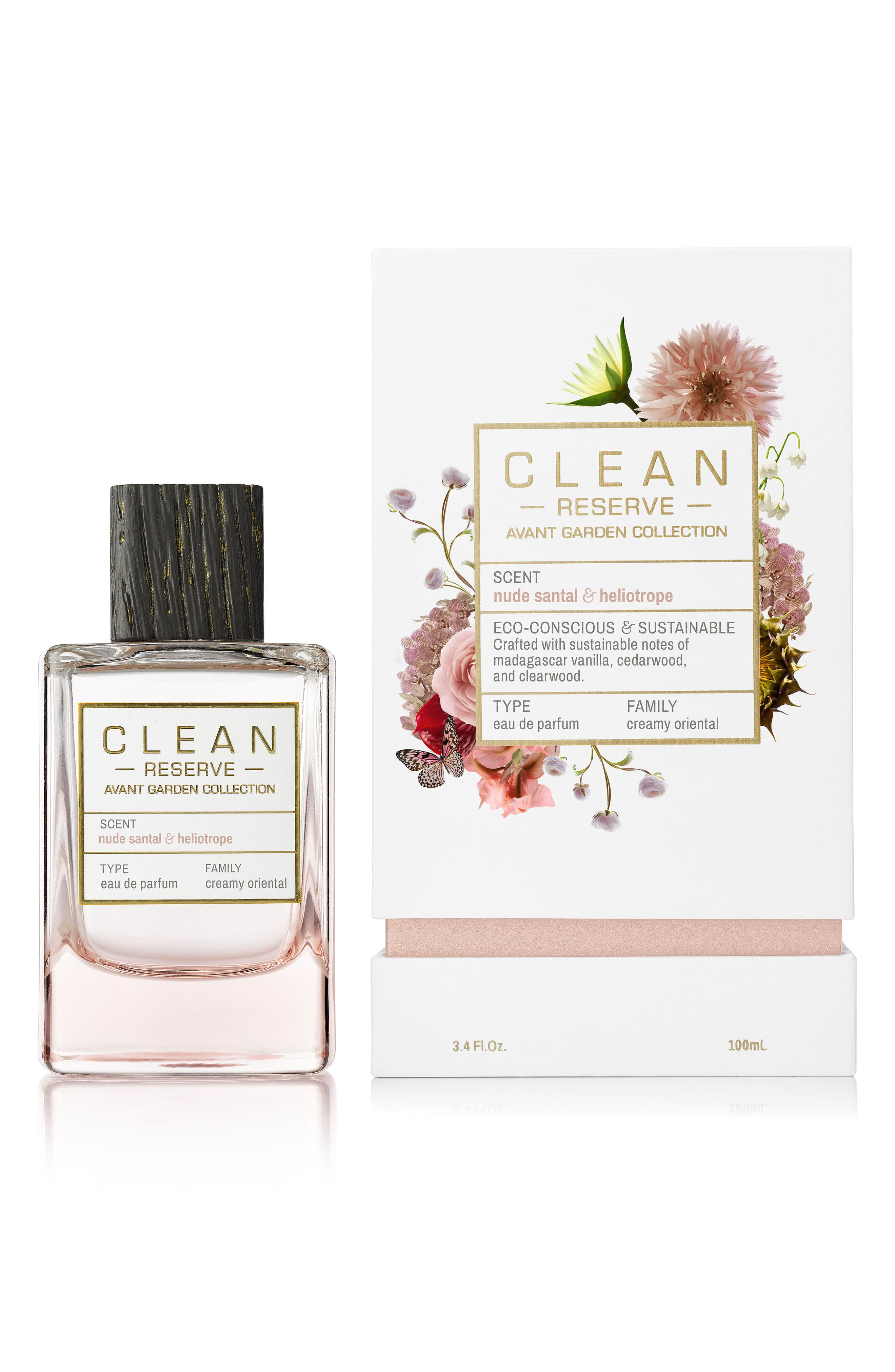 Avant Garden Nude Santal & Heliotrope Eau de Parfum,                             Main thumbnail 1, color,                             No Color