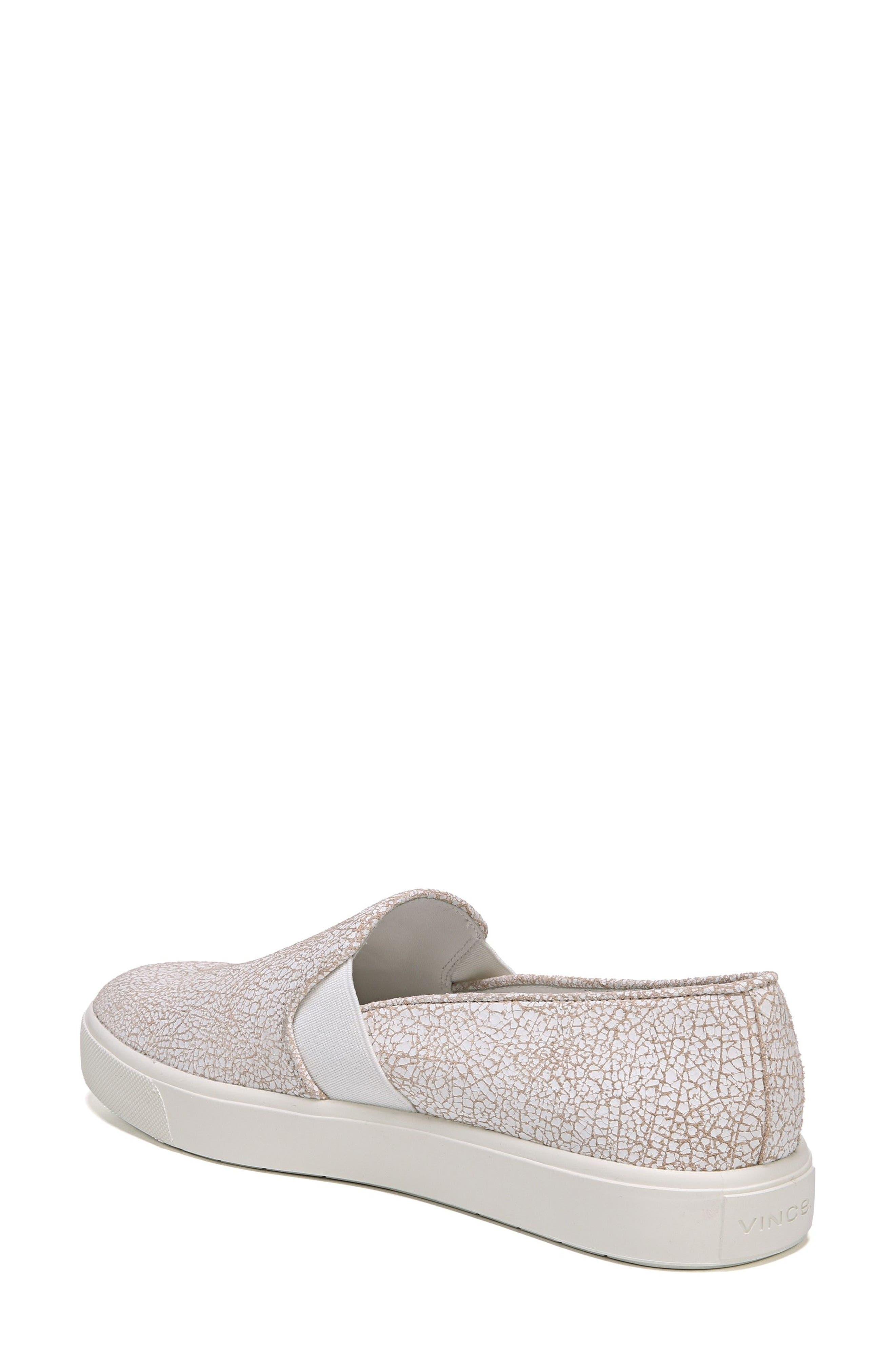 Alternate Image 2  - Vince 'Blair 12' Leather Slip-On Sneaker (Women)
