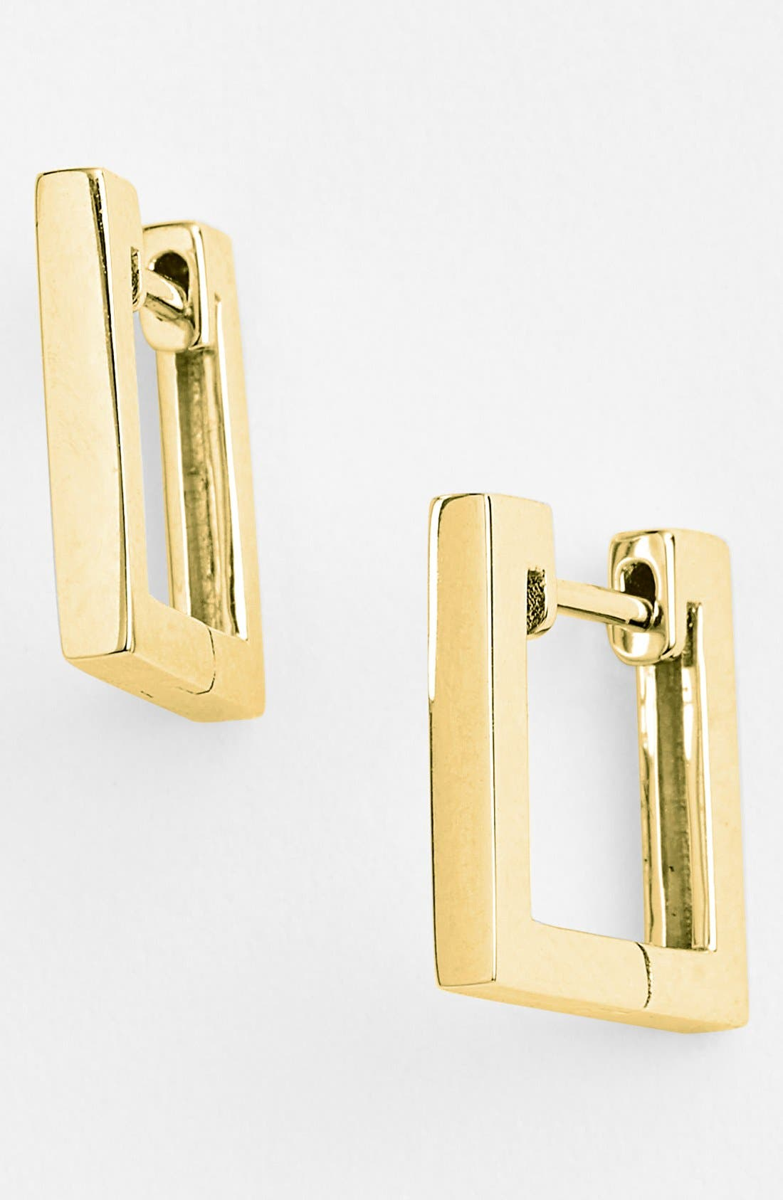 Bony Levy Small Square Hoop Earrings (Nordstrom Exclusive)