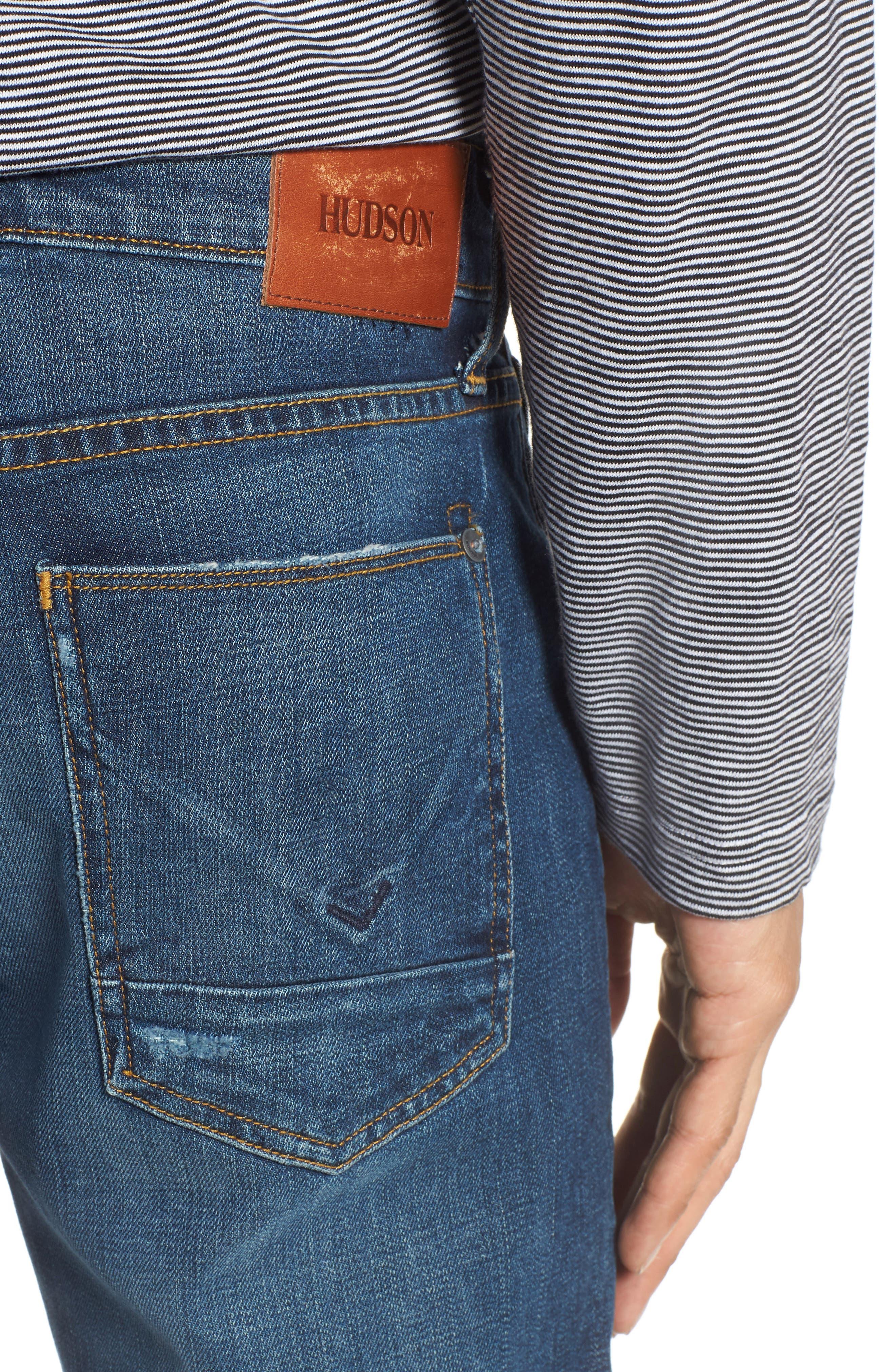 Byron Slim Straight Leg Jeans,                             Alternate thumbnail 4, color,                             Shuvit