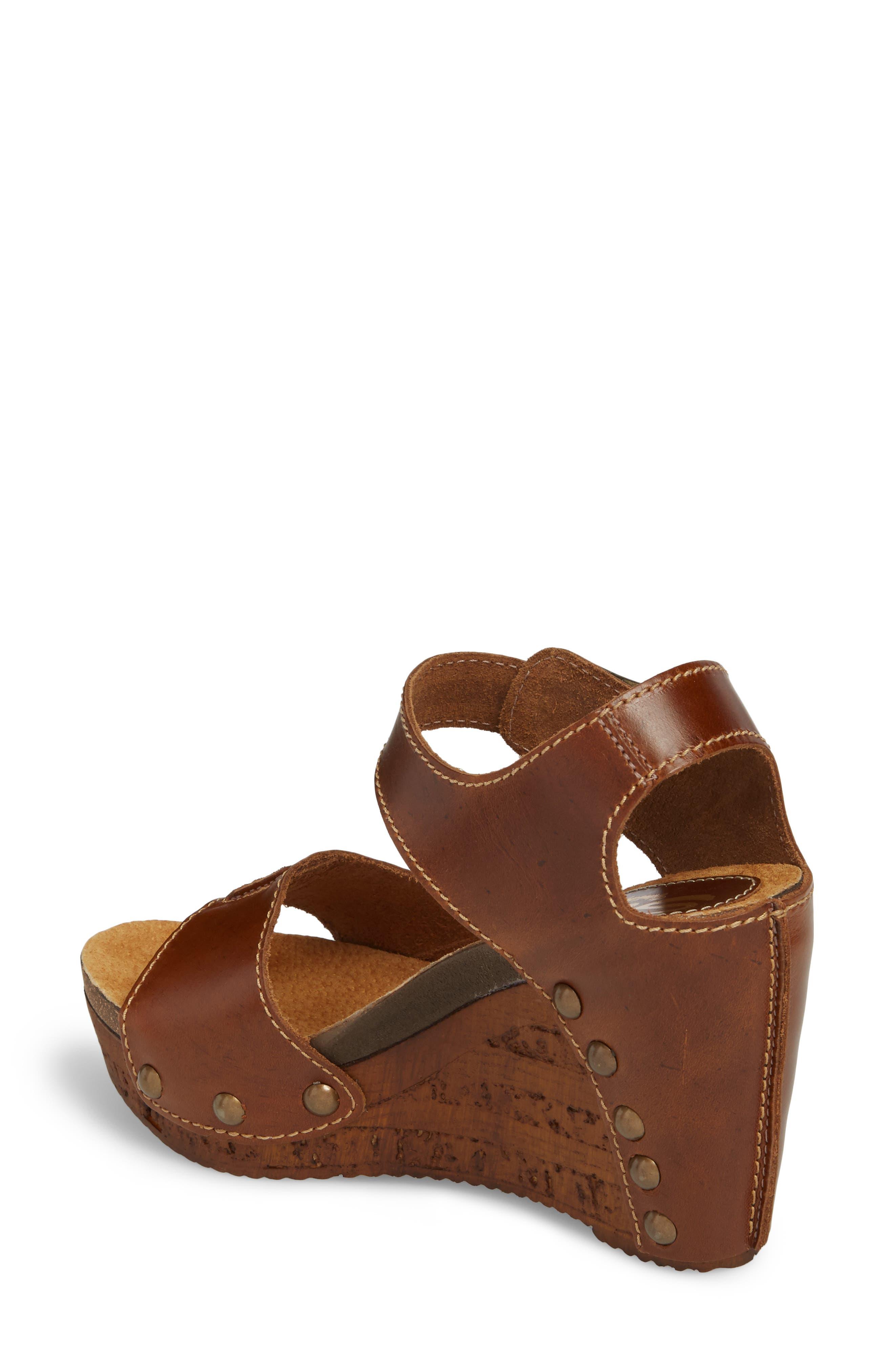 Alternate Image 2  - Sbicca Brella Studded Platform Wedge Sandal (Women)